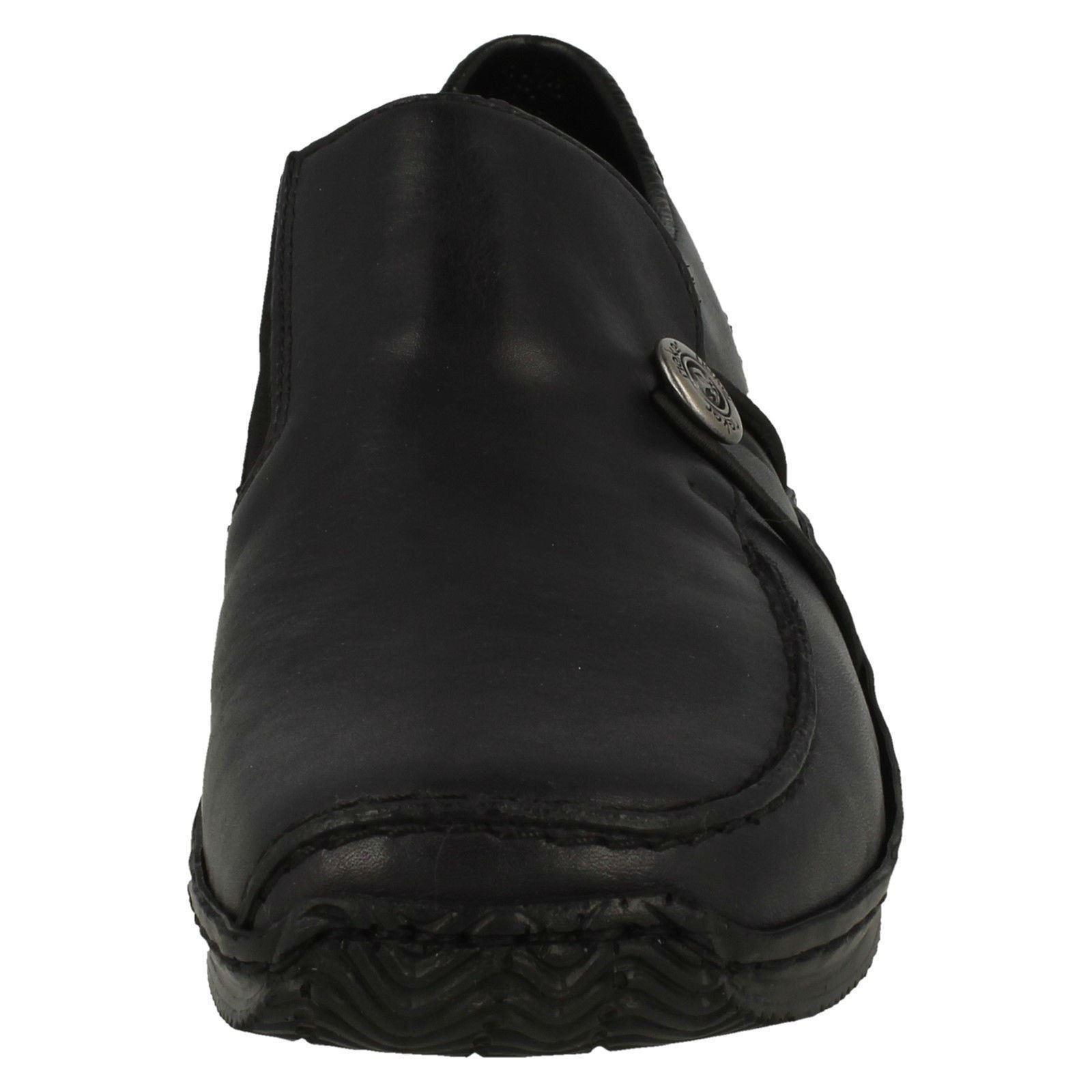 Da Donna Rieker Scarpe Dettaglio Basse Casual con Dettaglio Scarpe Bottone * L1781 * f10fe6