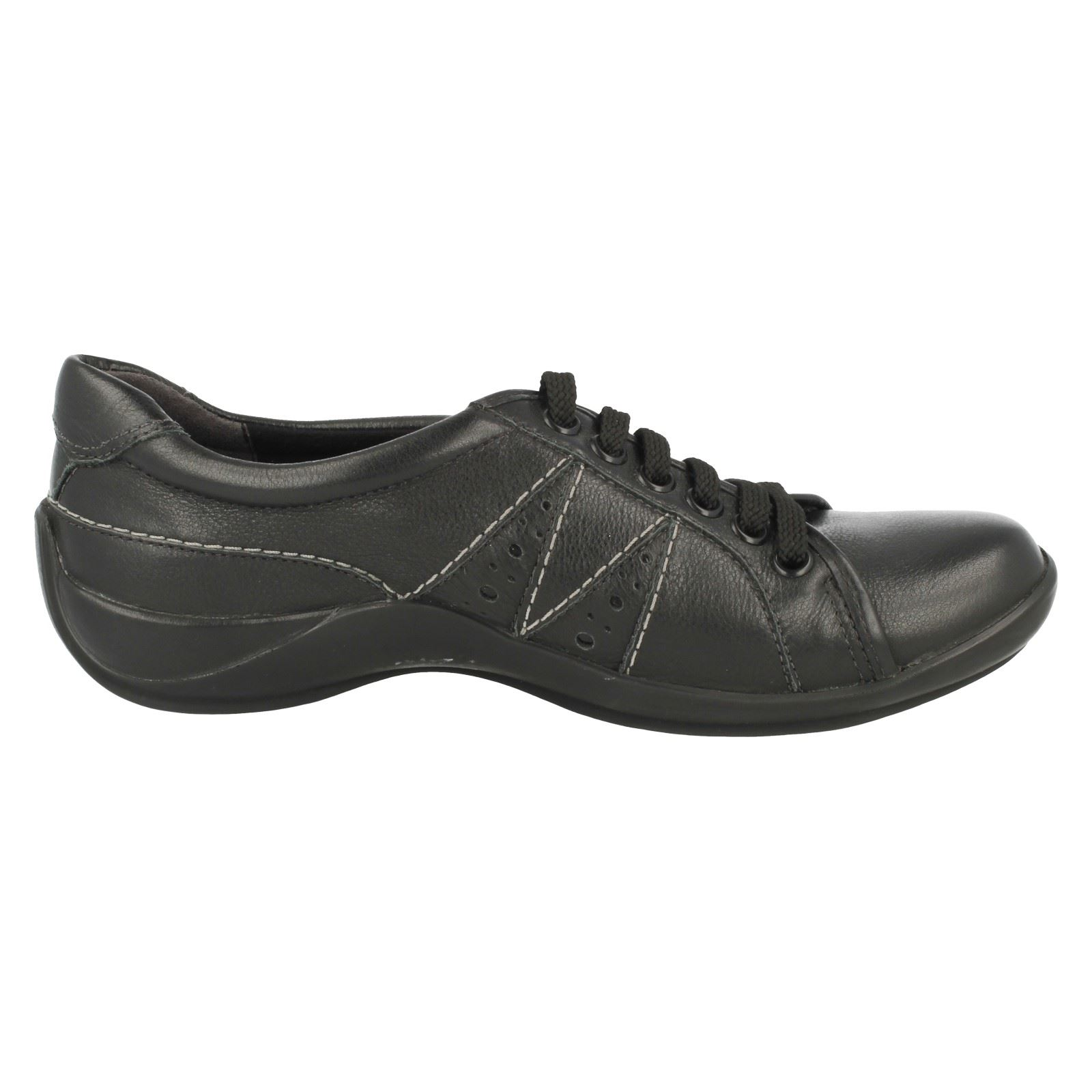 Laides K's By Clarks Lace Up Schuhes Fine Move