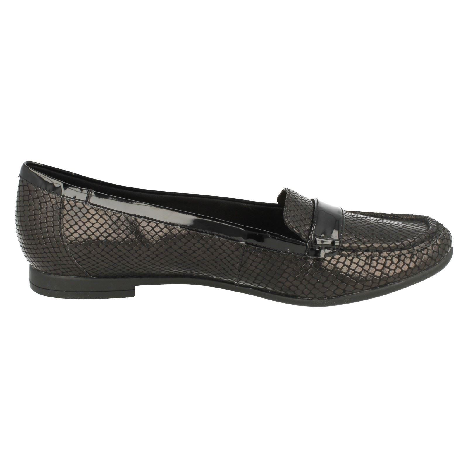 Atomic Lady /'Ladies Clarks/' Smart Slip On Loafers