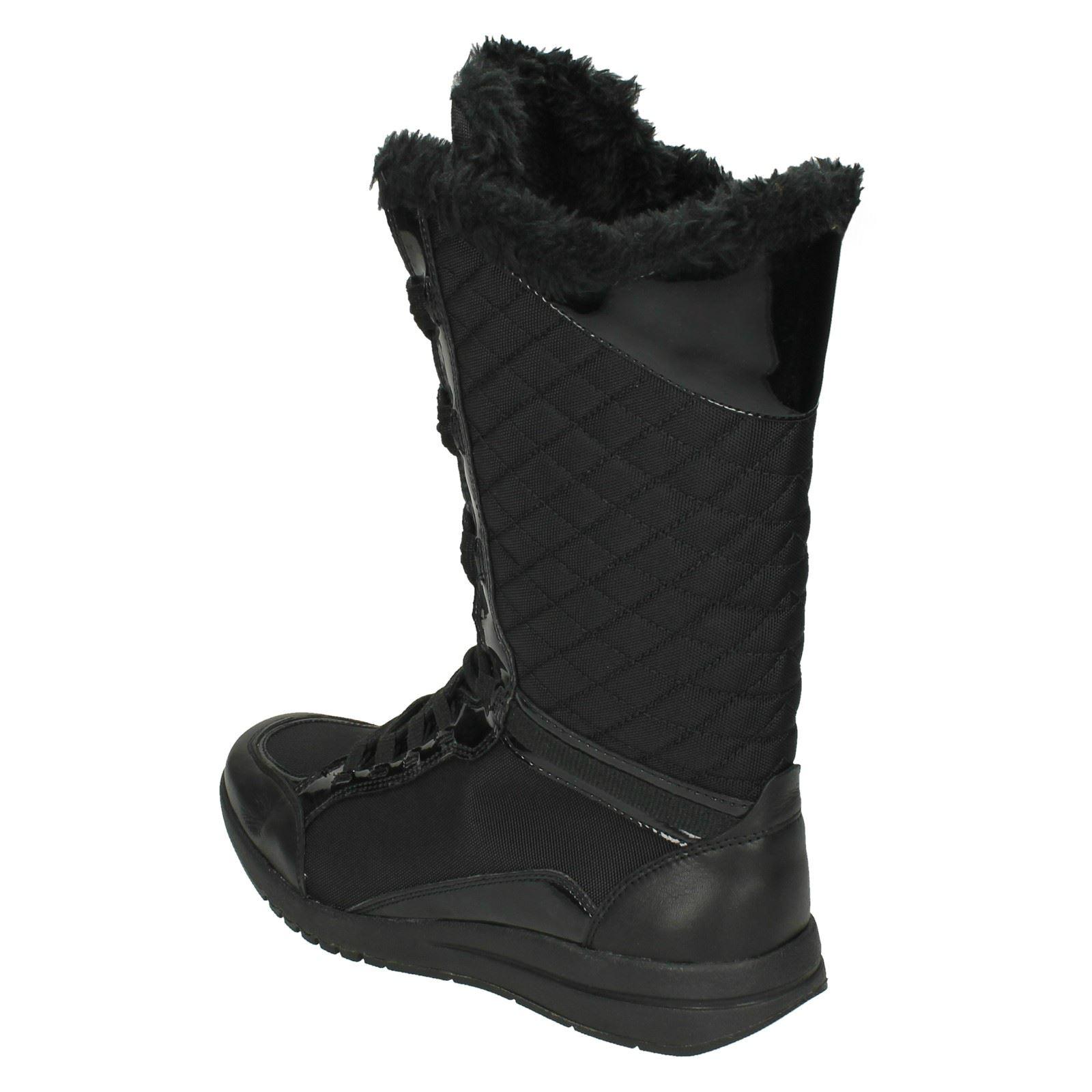 Ladies Rockport Zana Quilted Snow Boots 'K60673'   eBay