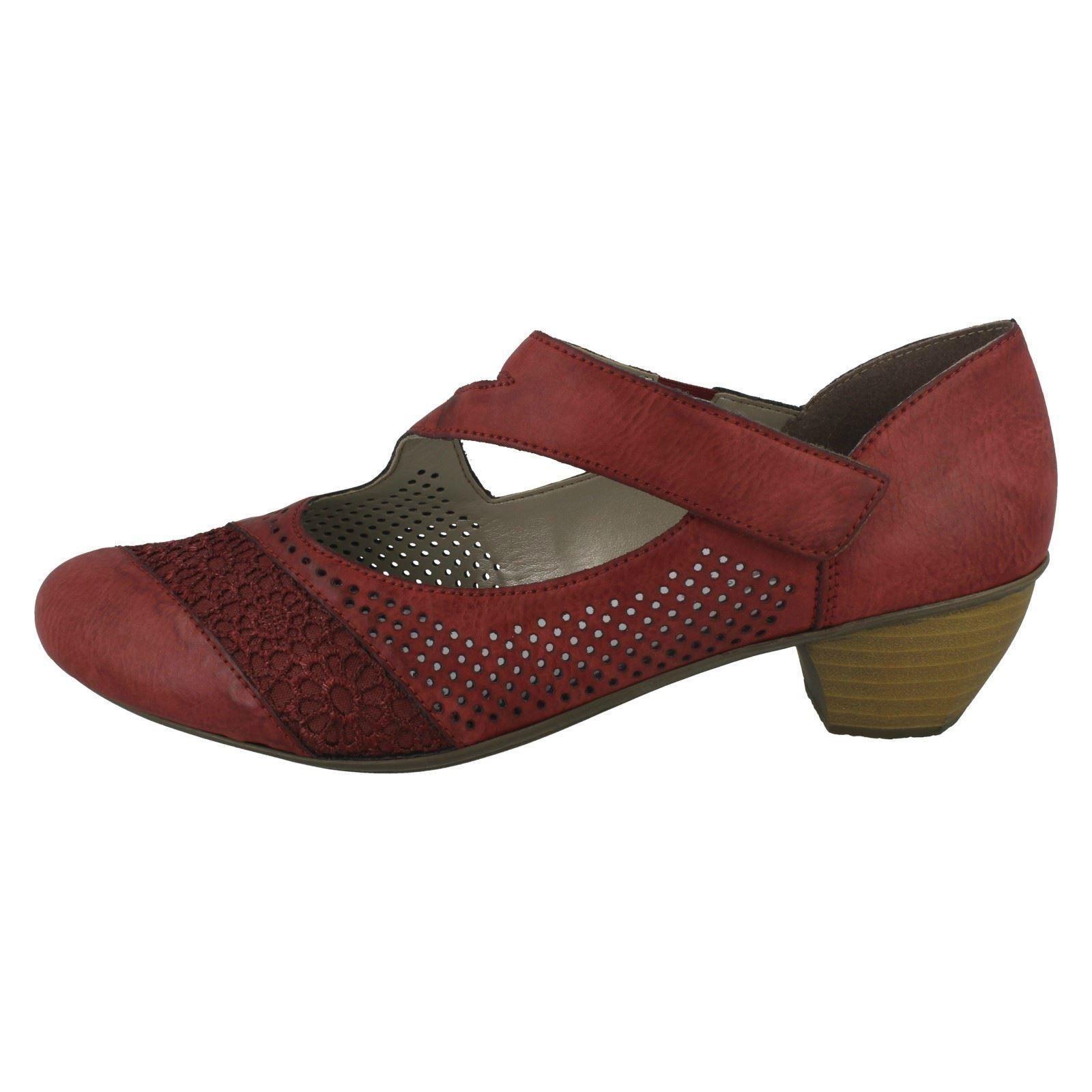 Da Donna Rieker Formale Scarpe Scarpe Scarpe Mary Jane Stile 41743 1e87e8