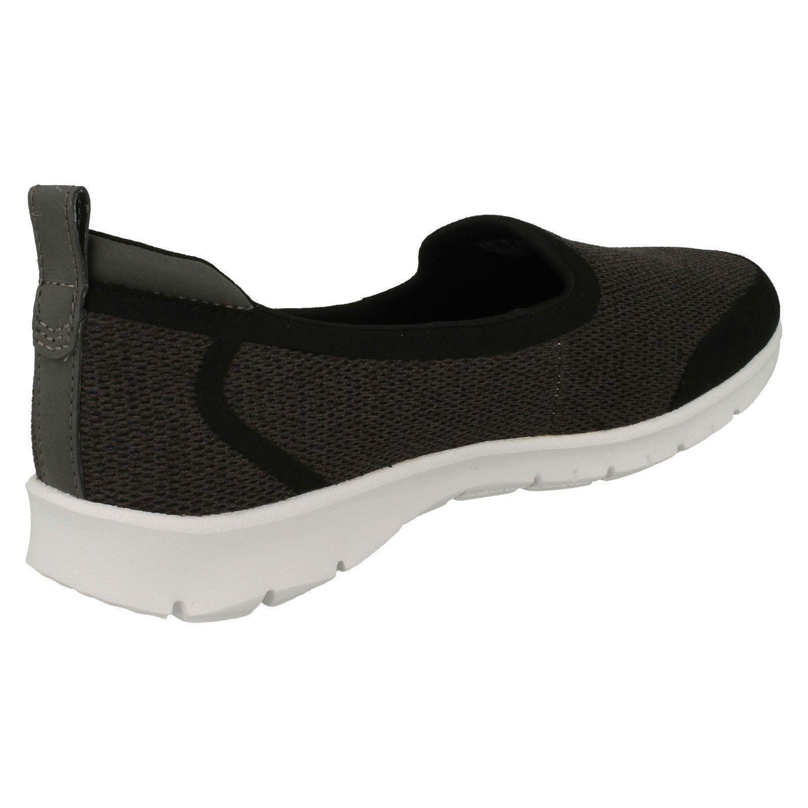 'Damen Clarks 'Rund Zehenabschnitt ohne Bügel Sportlich Slipper - - Slipper Step Allena Lo 73ebd8