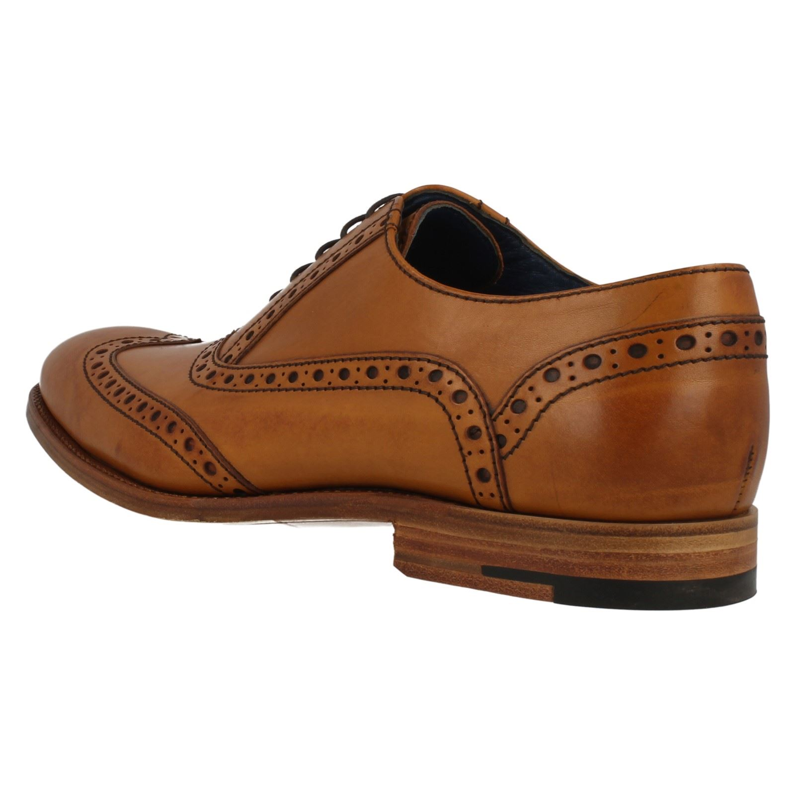Uomo Barker Lace Up Brogue Schuhes Grant 382c95