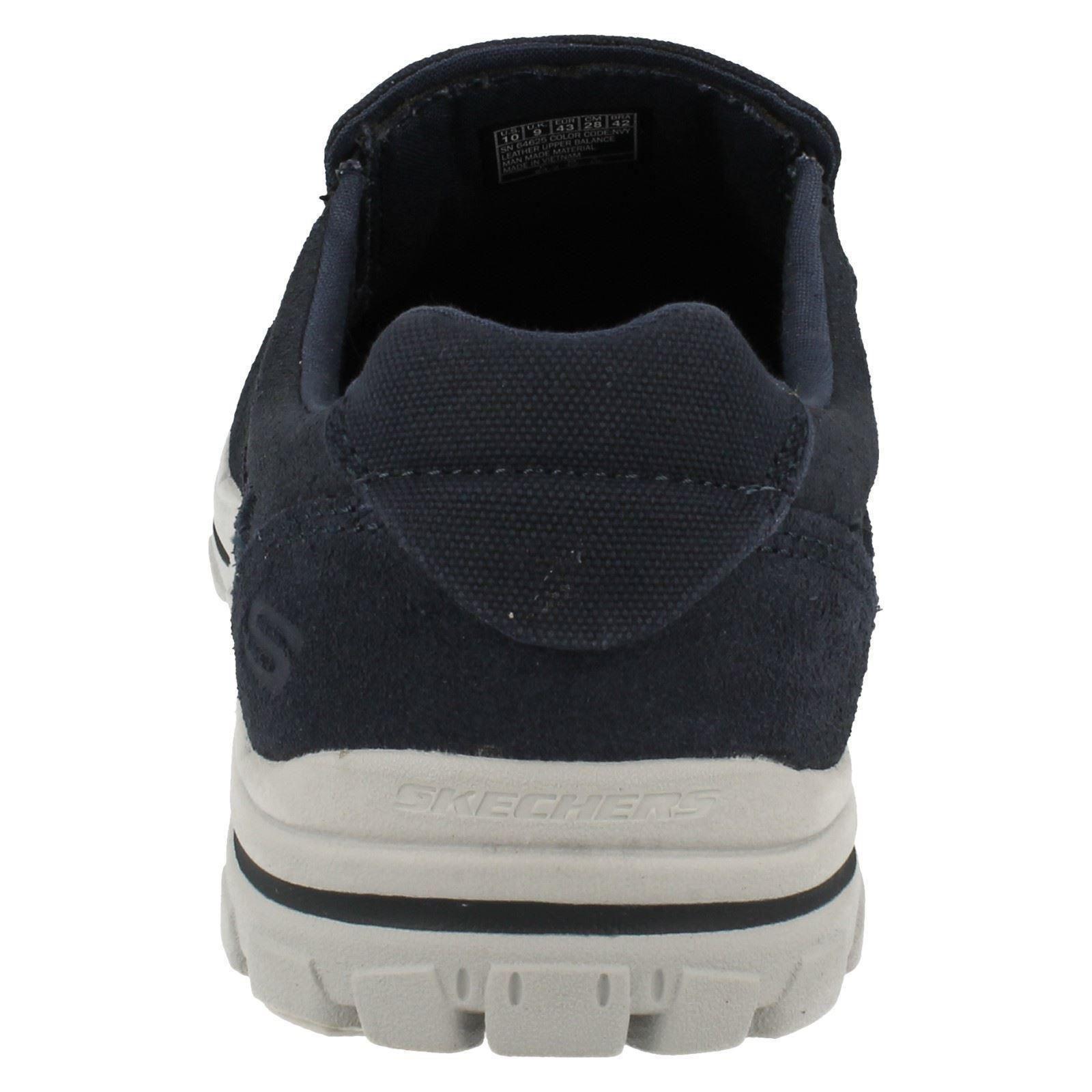 casuales mocasines hombre Skechers Navy Zapatillas Navid para zapatos Braver azul 6RZSxqw