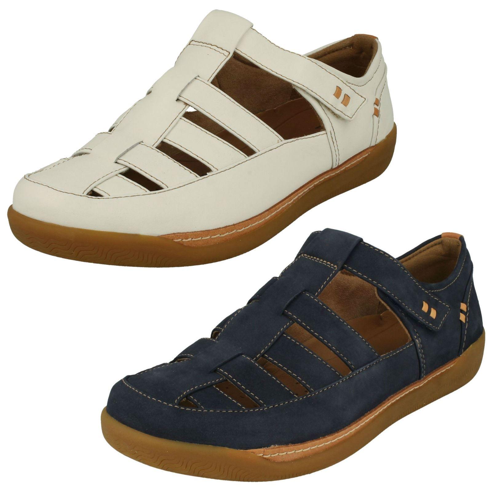 bc6cea2cc46 Details about Ladies Clarks Casual Unstructured Shoes Un Haven Cove