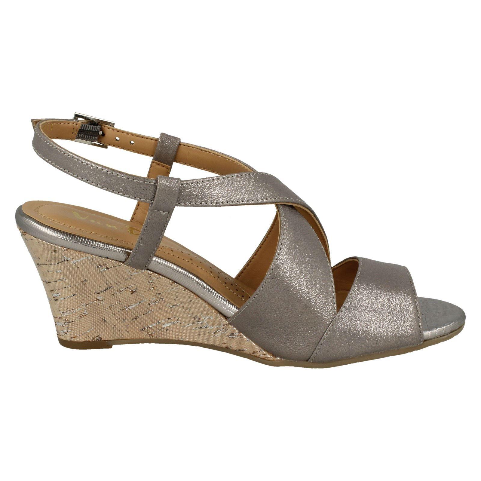 Ladies-Van-Dal-Cross-Strap-Wedged-Sandal-Allora thumbnail 24