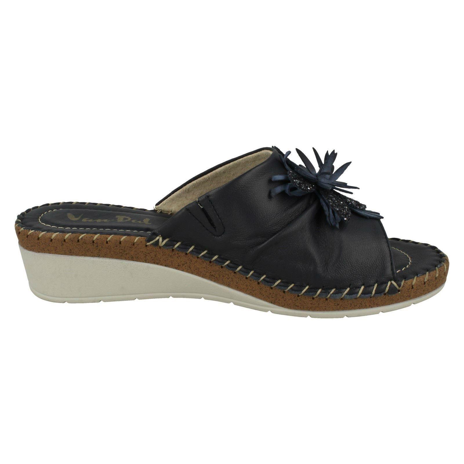 Ladies-Van-Dal-Wedge-Heel-Mule-Sandals-039-Banks-039 thumbnail 19