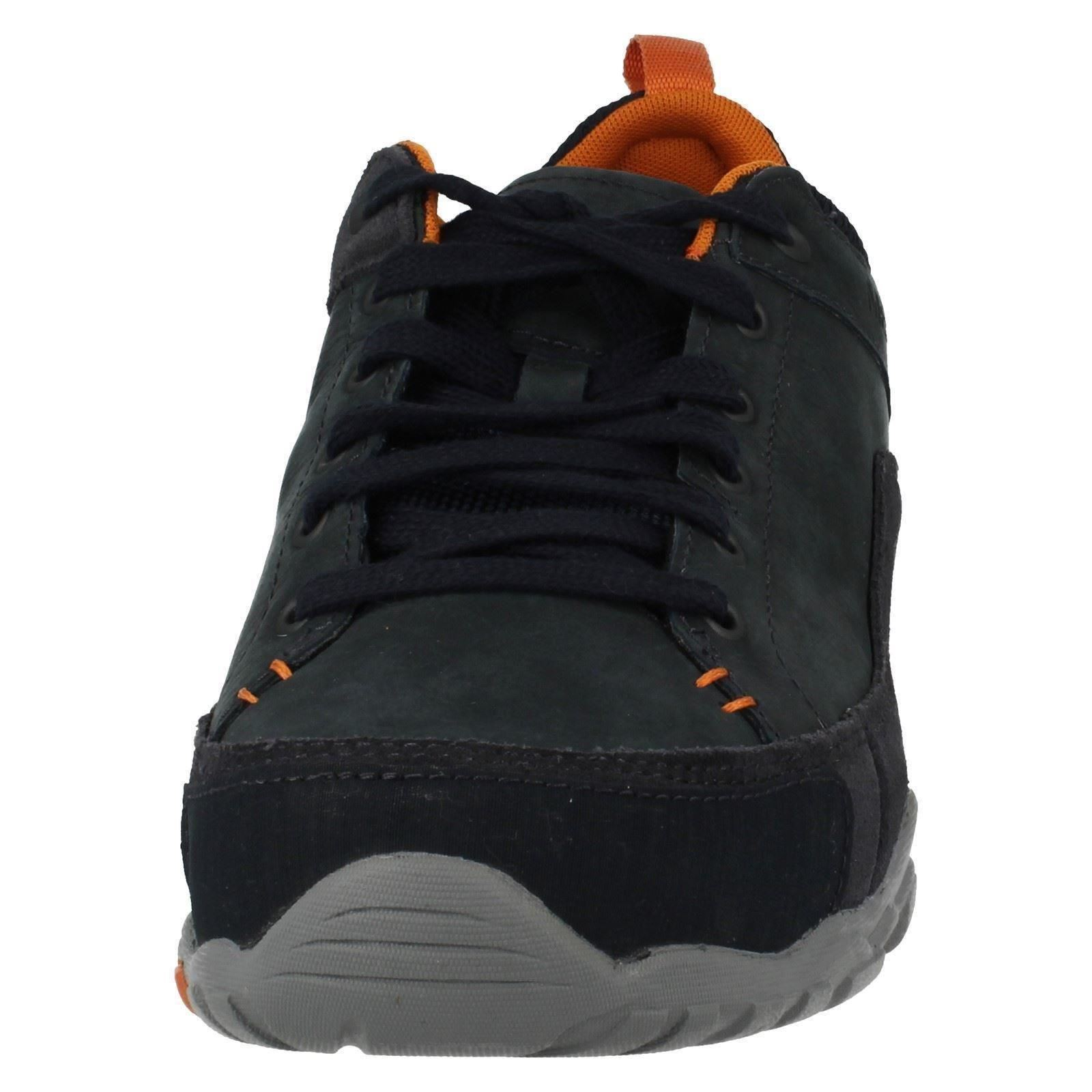 Uomo Merrell Rounded Toe Lace Schuhes Up Leder Casual Walking Schuhes Lace Telluride Lace f1bf06