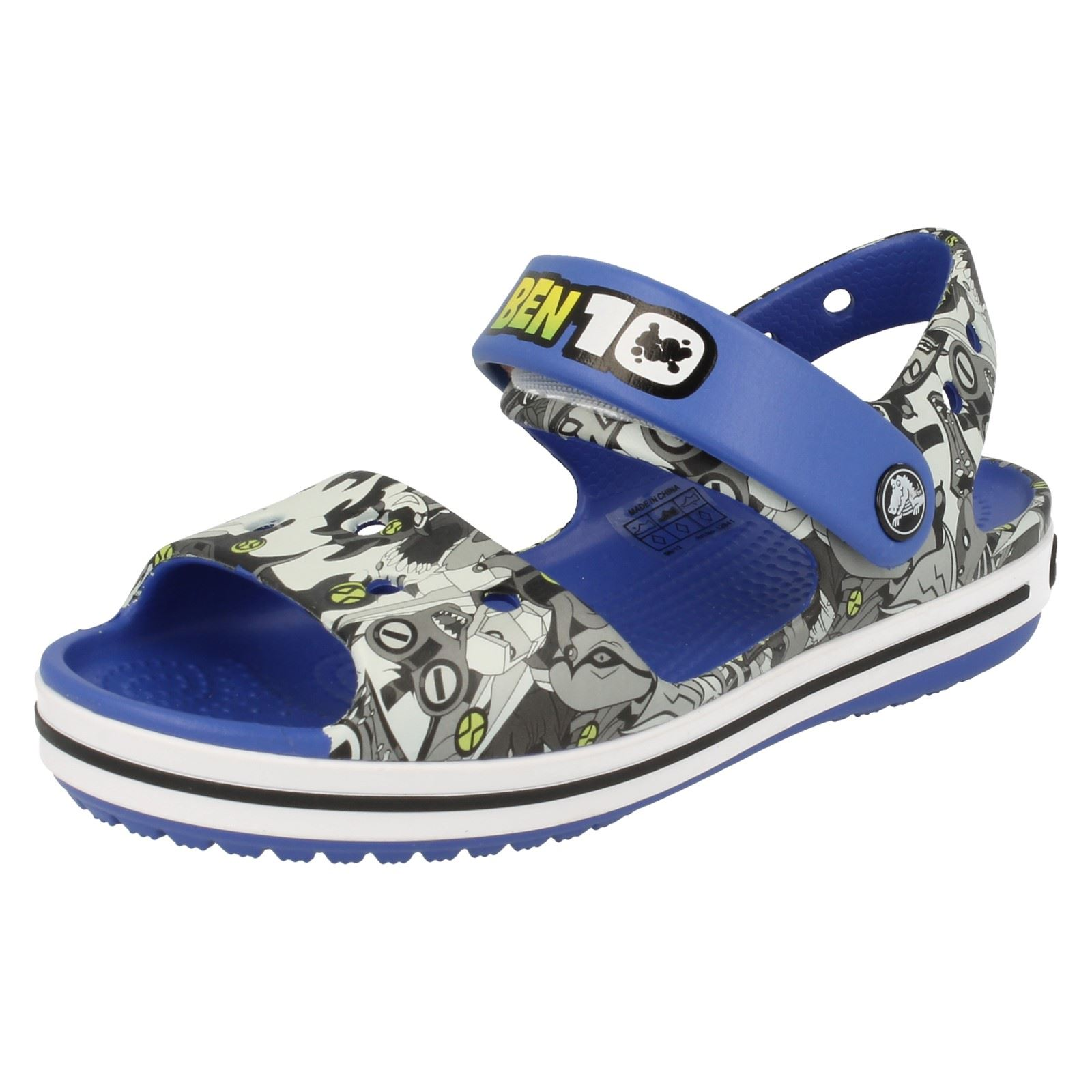 8b5c94c6a92b Crocs Boys Sandals - Crocband Sandal K Ben 10