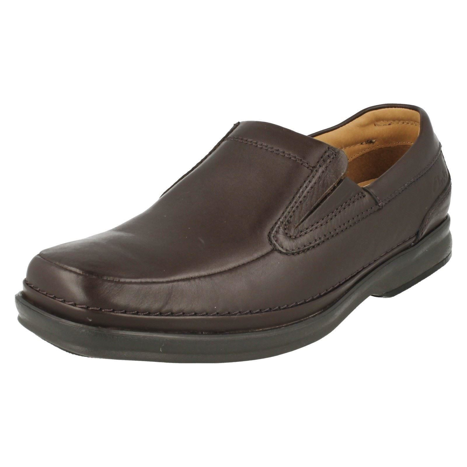 Slip On Clarks Mens Step Scopic Shoes Scopic Formal Wide Mens
