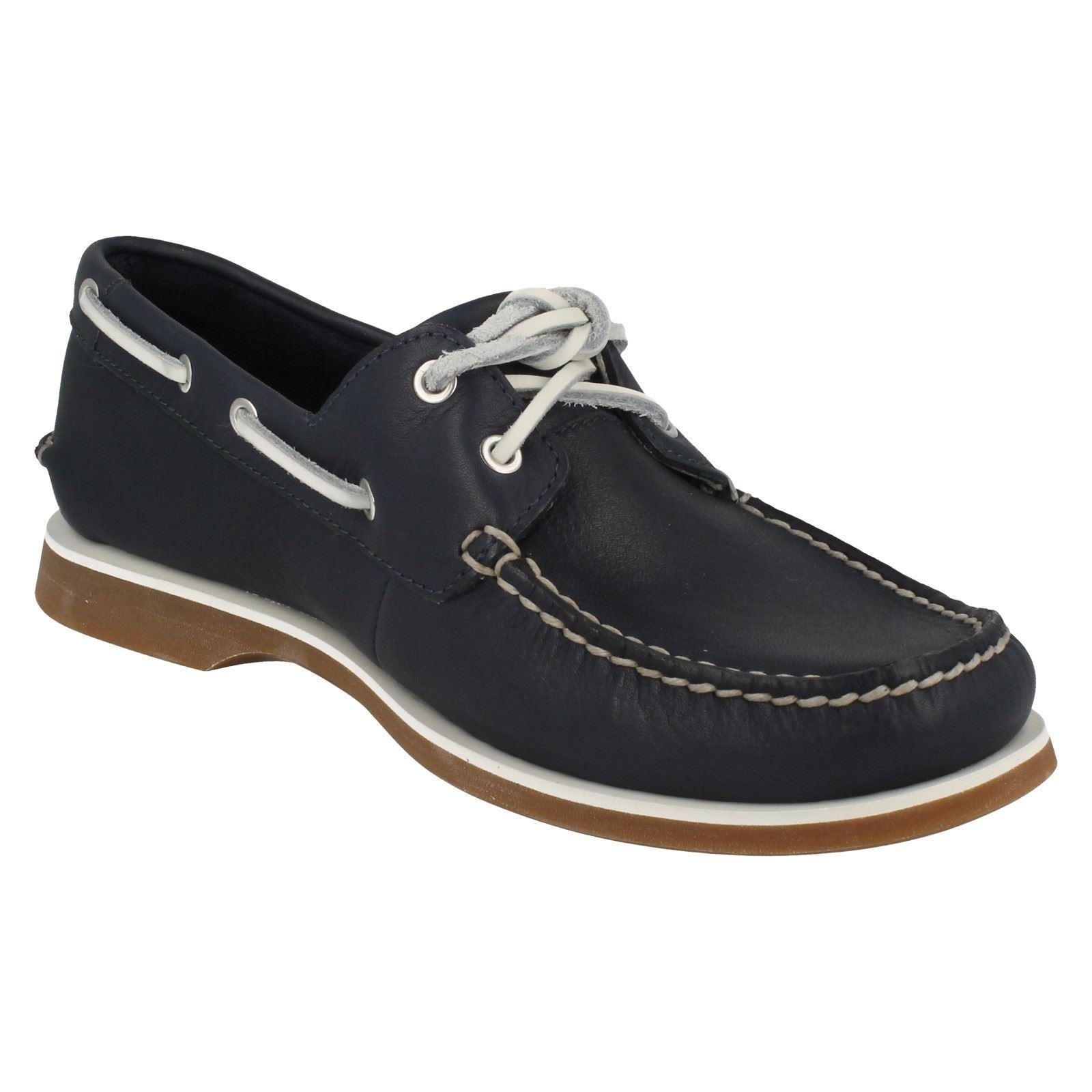 Clarks Mens Deck Boat Shoe