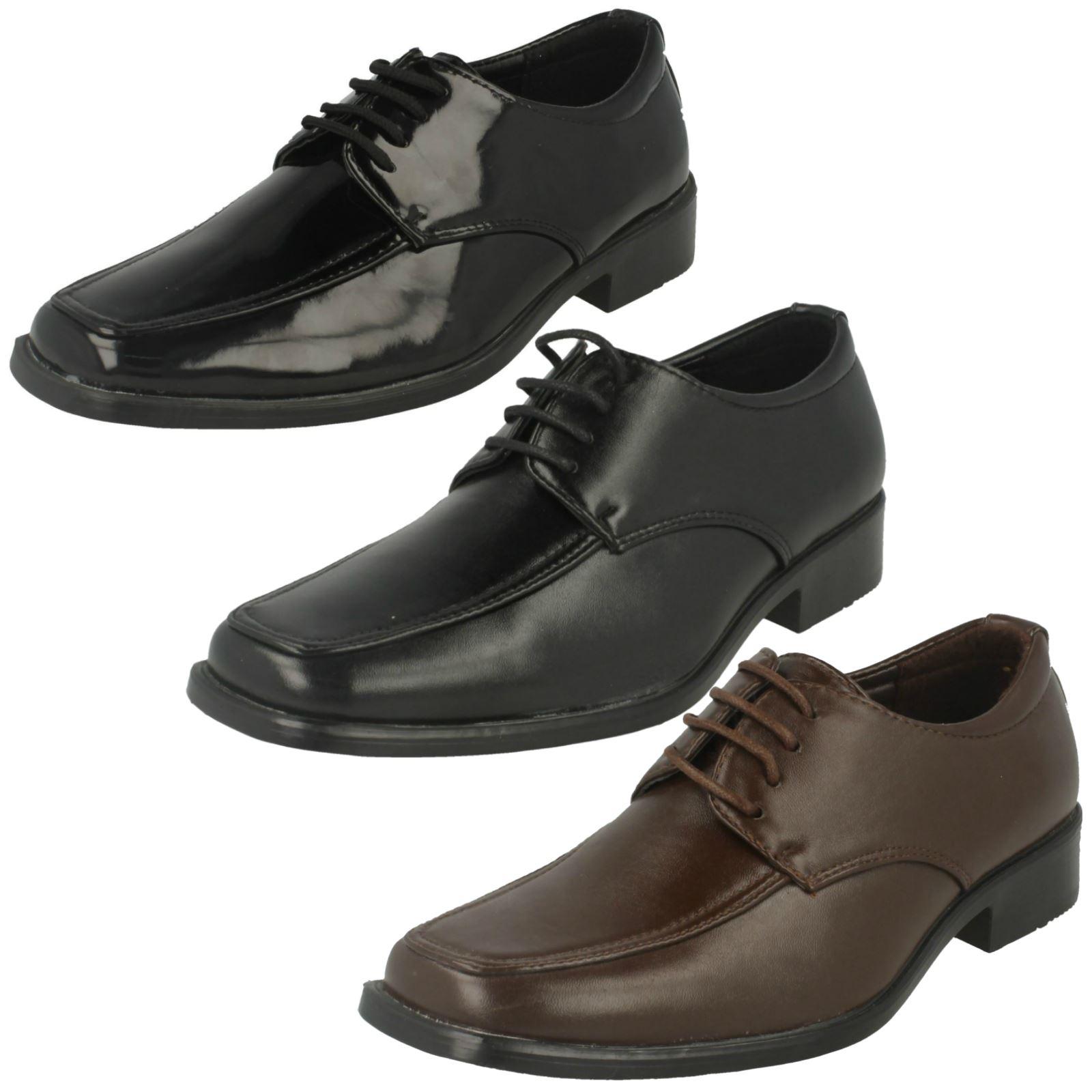 Detalles De Cordones Niños Eleganteescuela Formal Zapatos Jcdees
