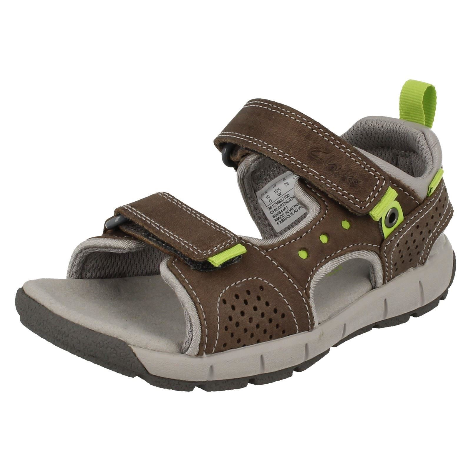 Details about Clarks Boys Casual Summer Sandals Jolly Wild