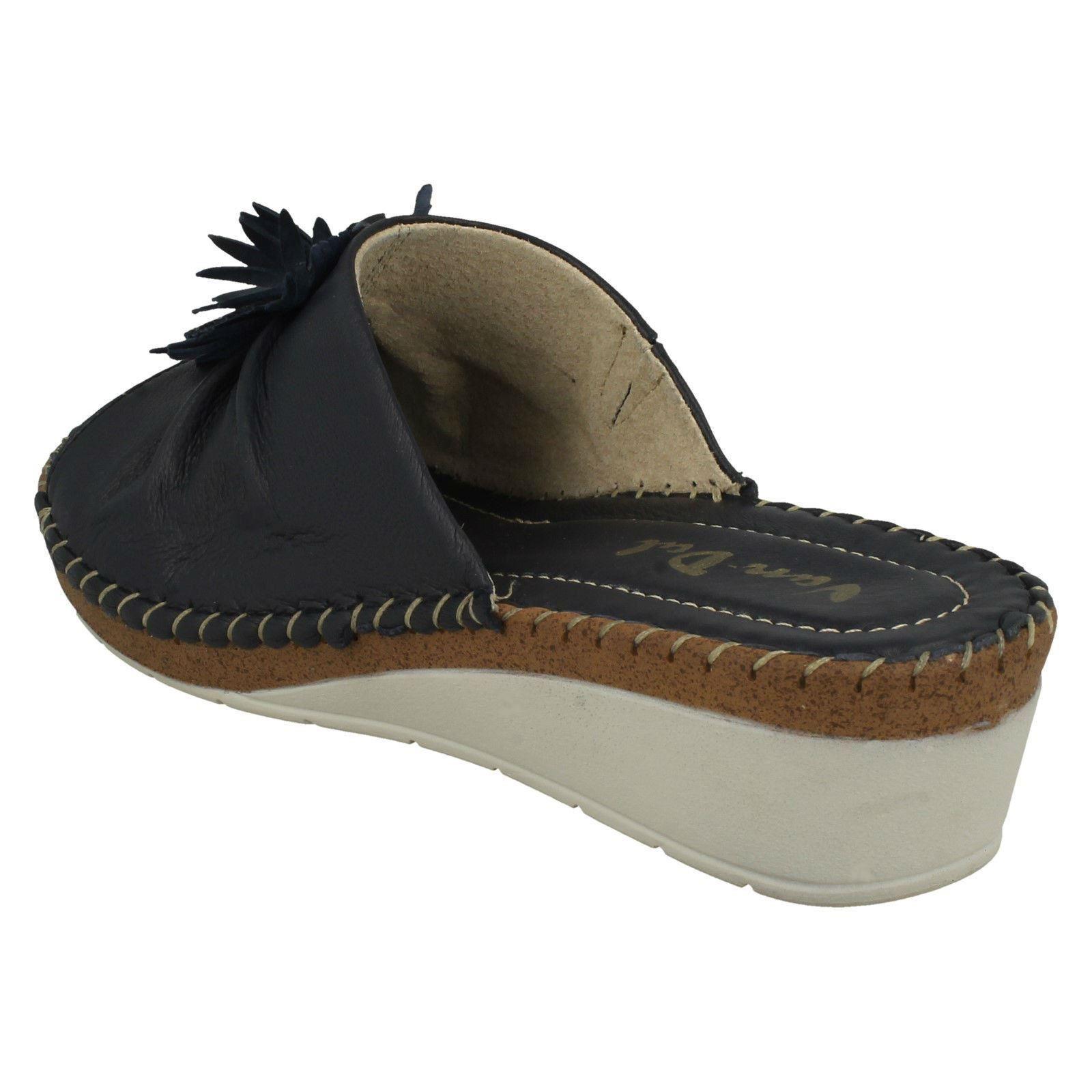 Ladies-Van-Dal-Wedge-Heel-Mule-Sandals-039-Banks-039 thumbnail 13