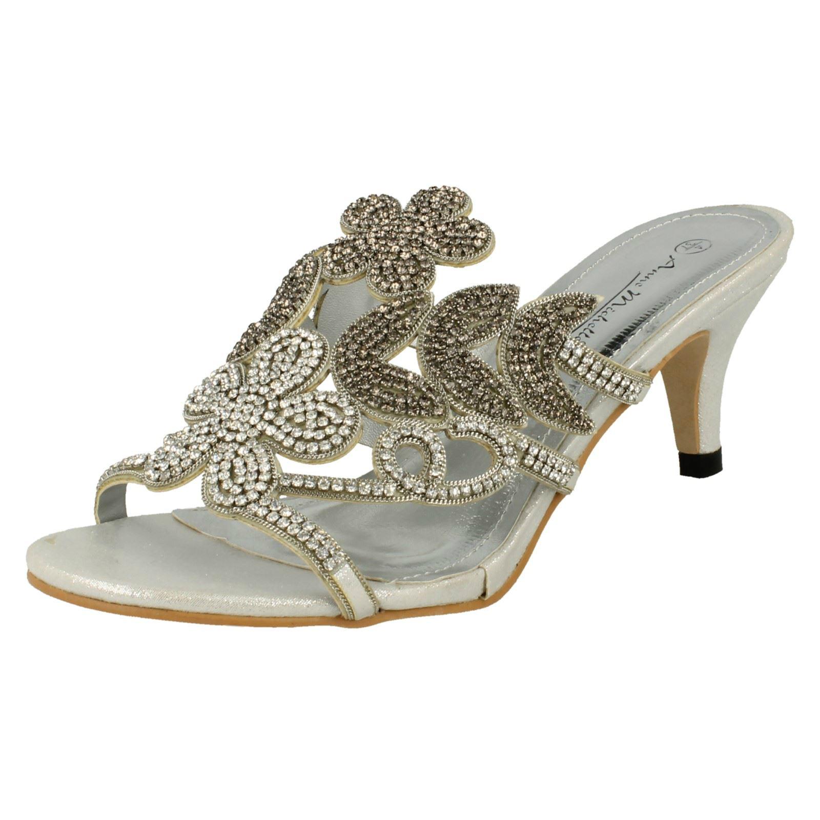 dea1d8fb2cb41 Anne Michelle Ladies Mule Style Low Heels | eBay