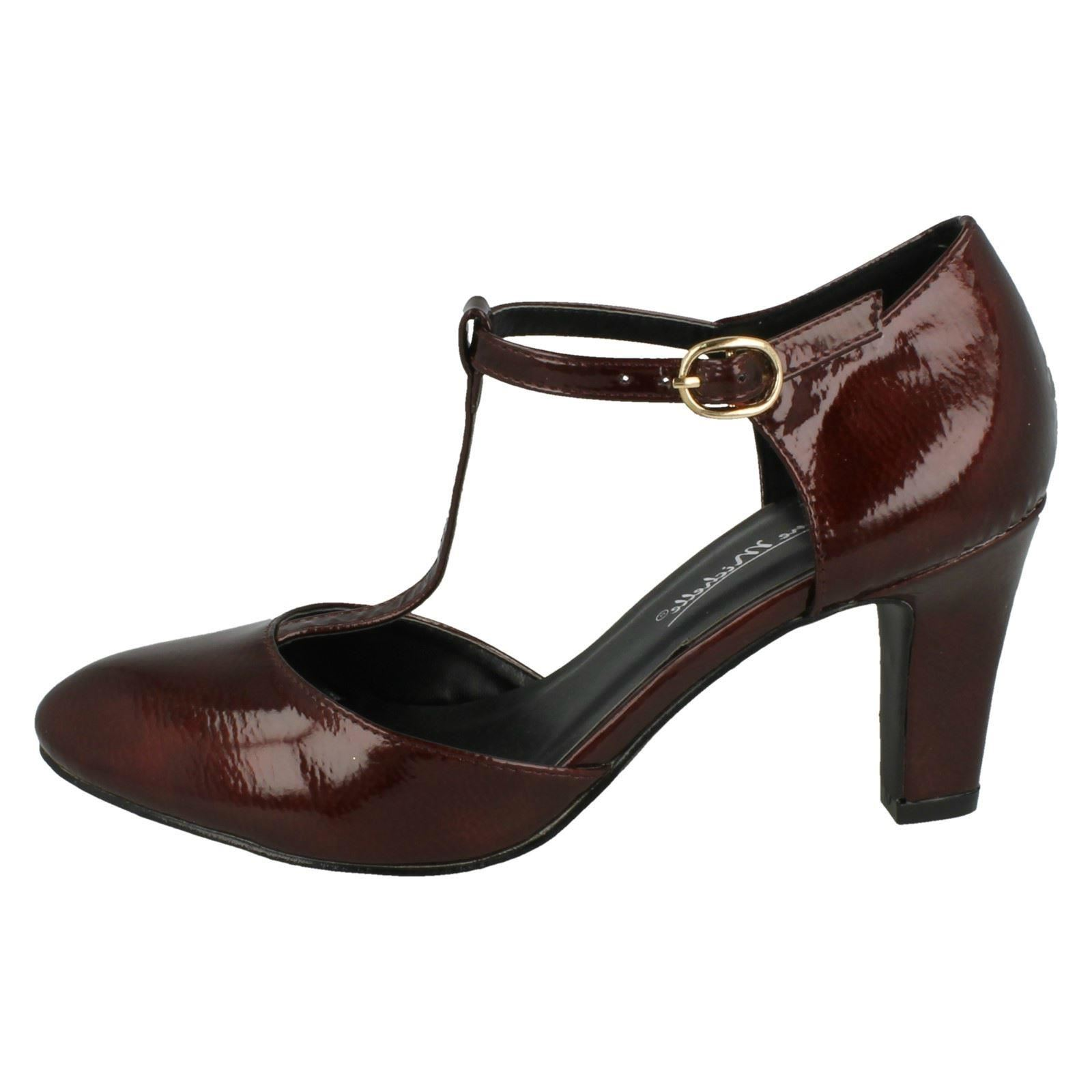Ladies-Anne-Michelle-T-Bar-Smart-Shoes thumbnail 21