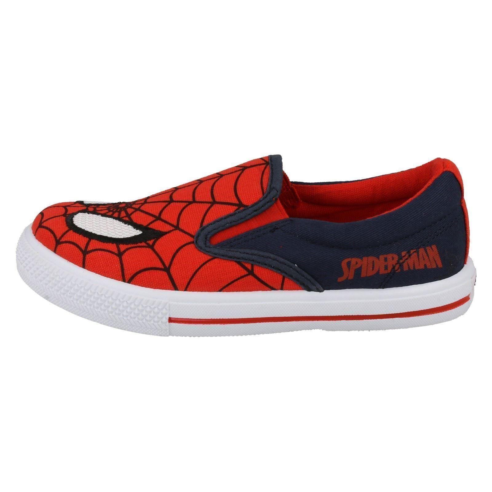 Marvel Spiderman Chicos-carlbury Slip On Lona