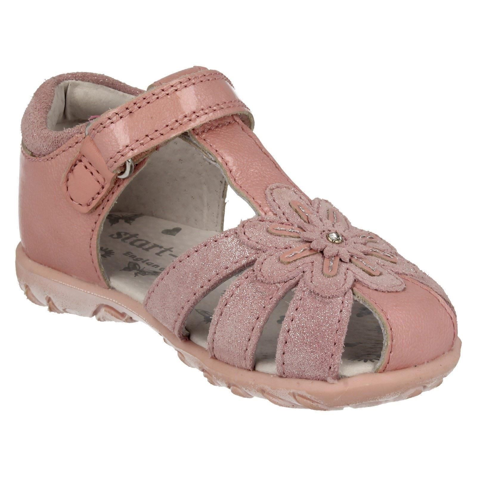 Sandals Closed Details Loop Infant Leather Primrose Toe About Startrite Girls Hookamp; kuOXiPZT