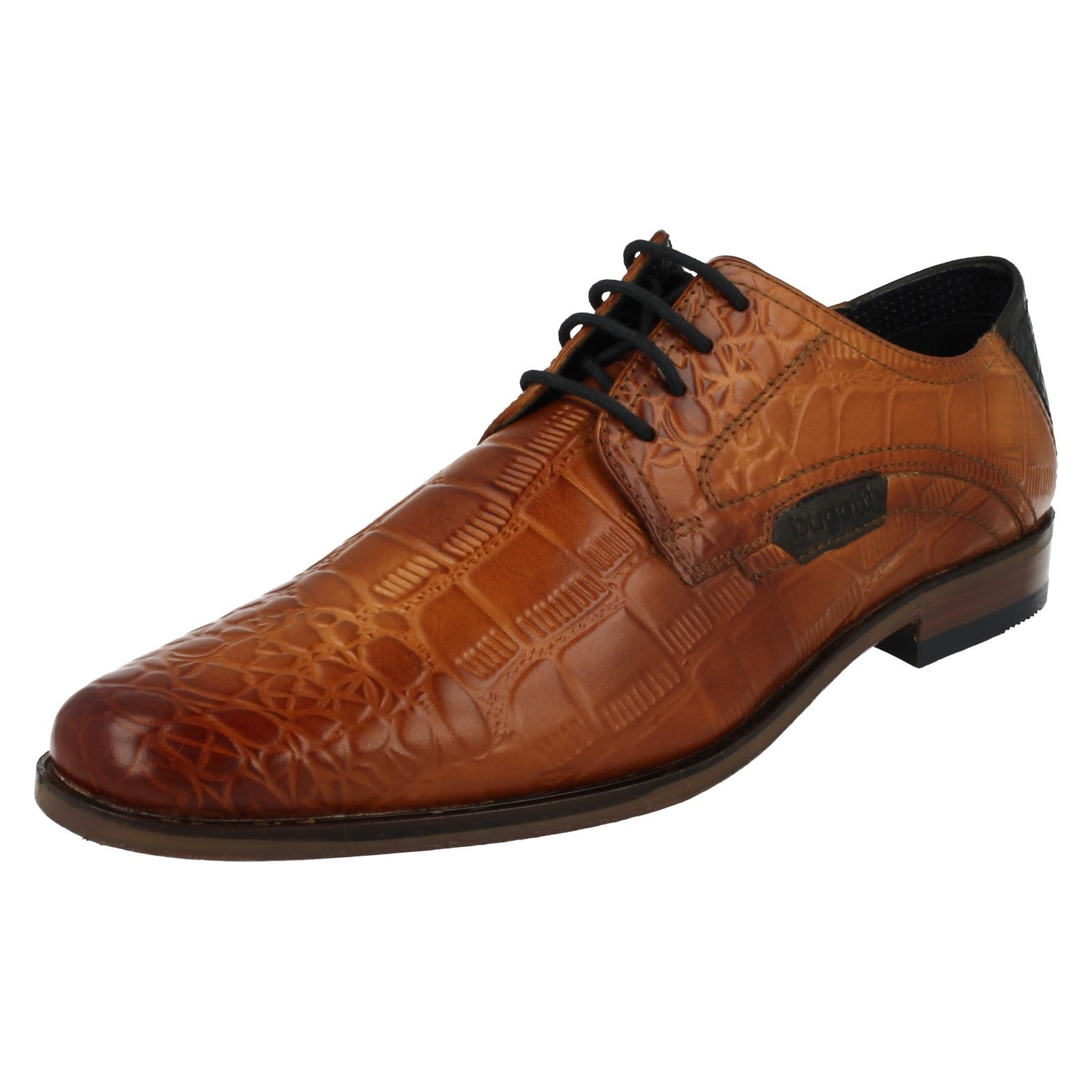 CABALLEROS Bugatti Inteligente Zapatos Con Cordones 15601
