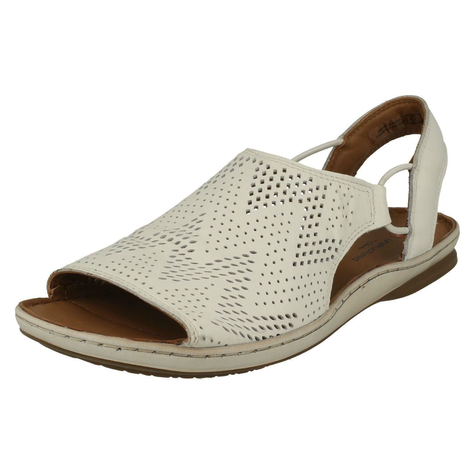822ea4c0b42 Clarks Sarla Cadence Ladies Leather Sandal White UK 5.5. About this  product. Picture 1 of 9  Picture 2 of 9 ...