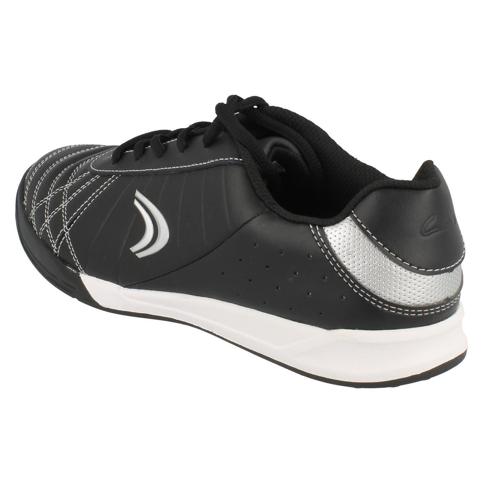 deporte Clarks de Lace Swerve Clarks Black para Toe Zapatillas redondeadas Time Up niños p15q1w