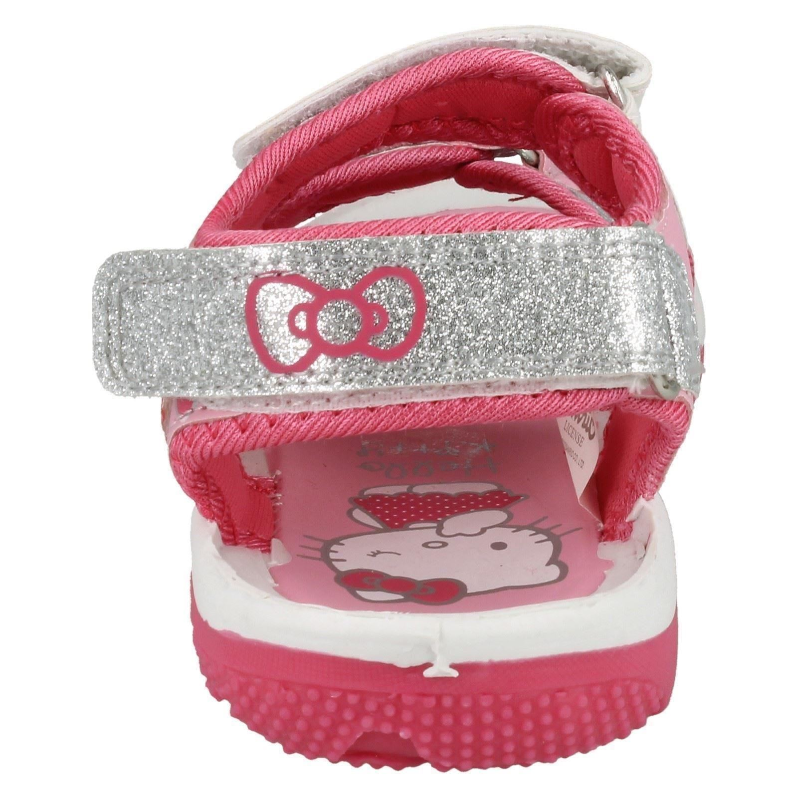 Chicas Hello Kitty 'copete' Sandalia