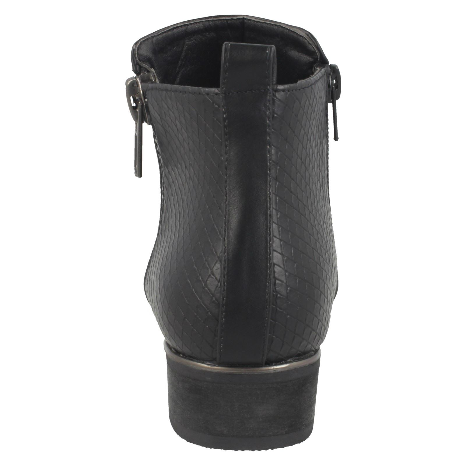 Girls Spot On Zip Ankle Boots
