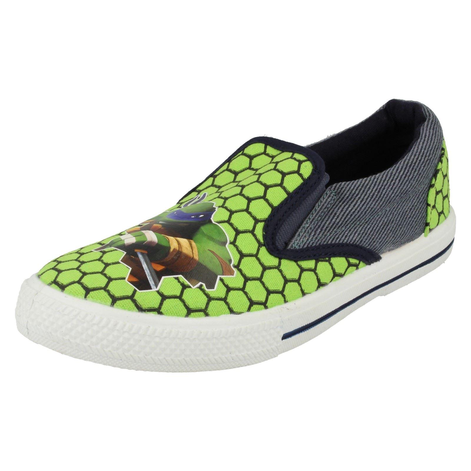 Chicos Nickelodeon Tmnt Foulton resbalón en el zapato