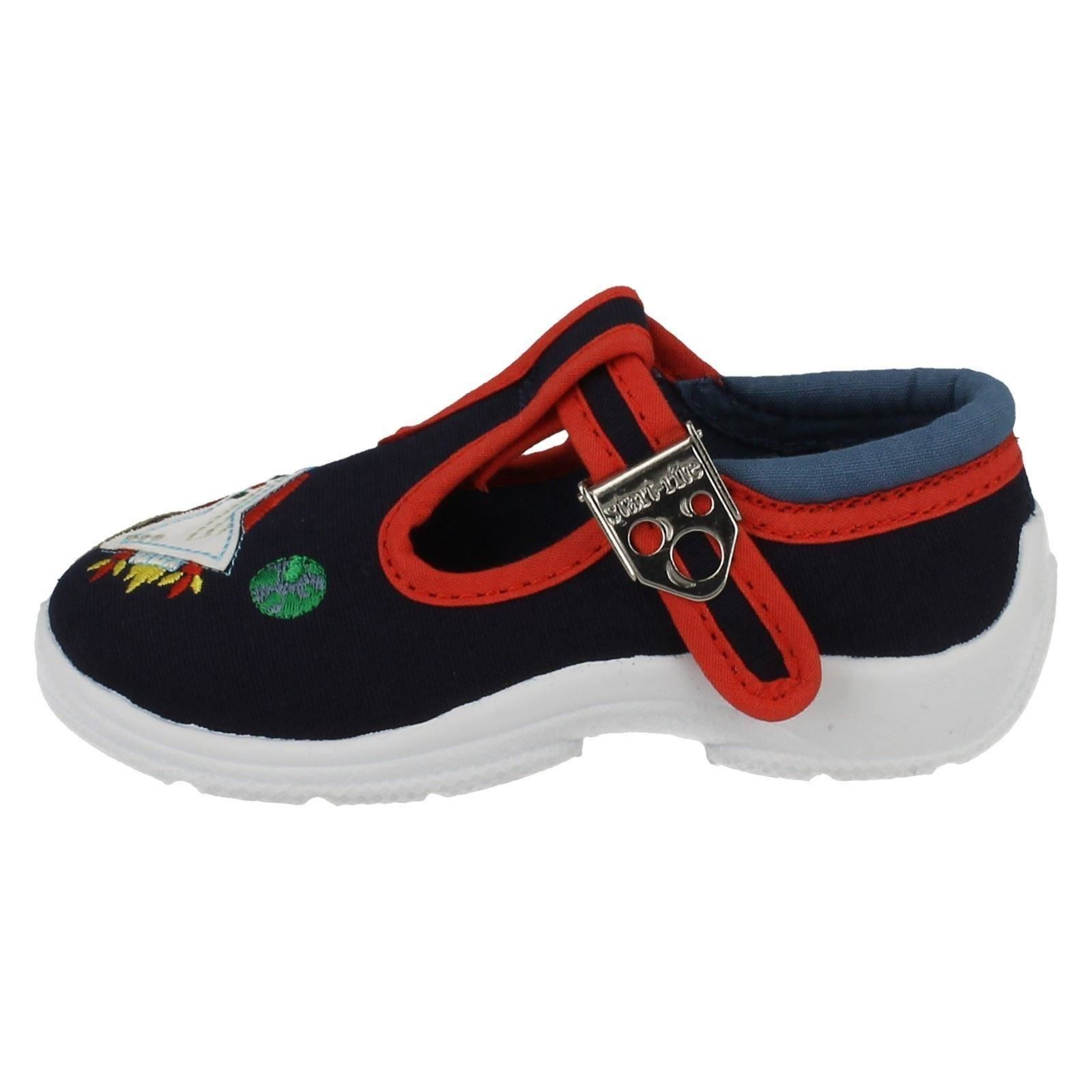 Startrite Boys Canvas Shoes - Space Cadet
