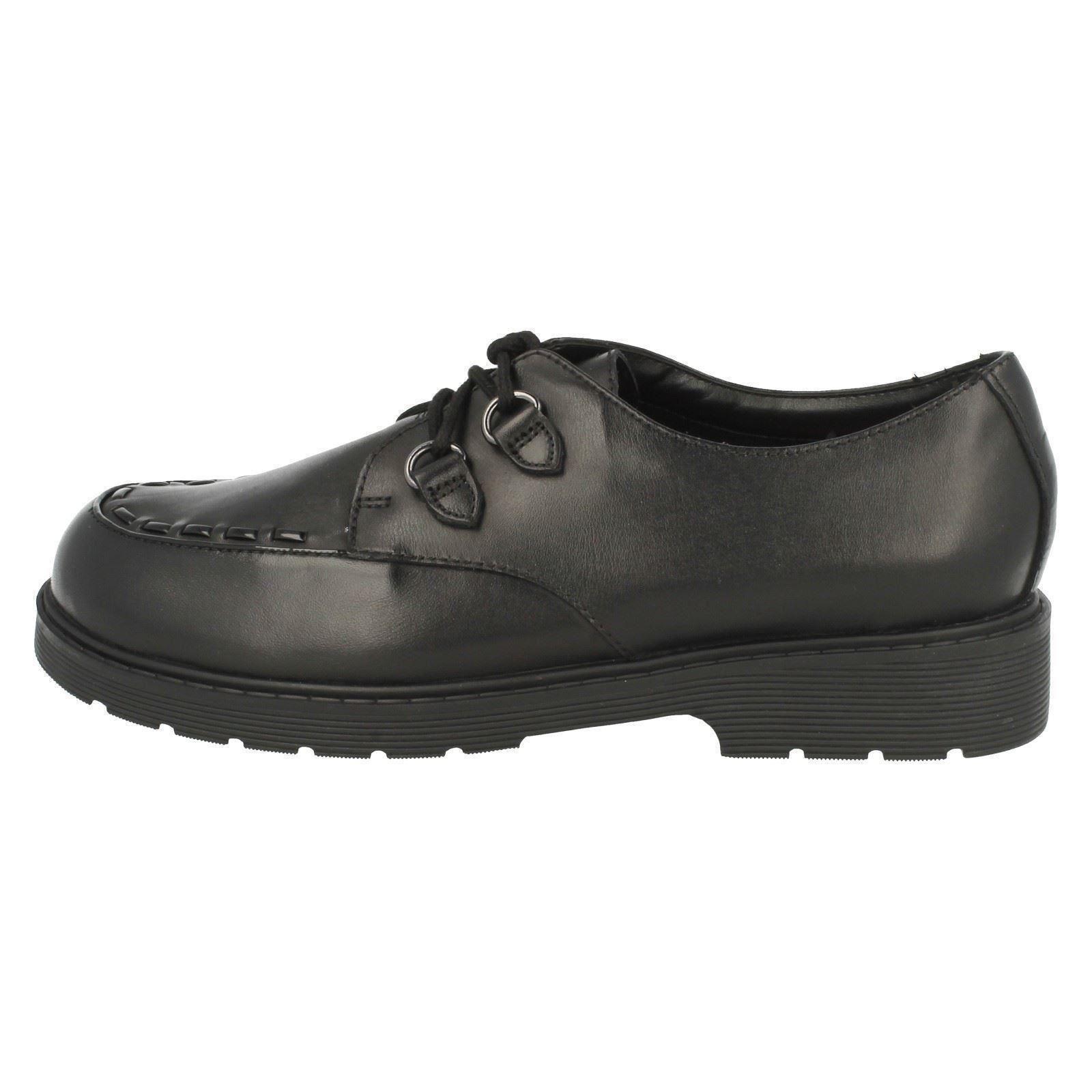 las Black Jo pirata zapatillas Clarks de por purley la Niñas escuela qgUaEf