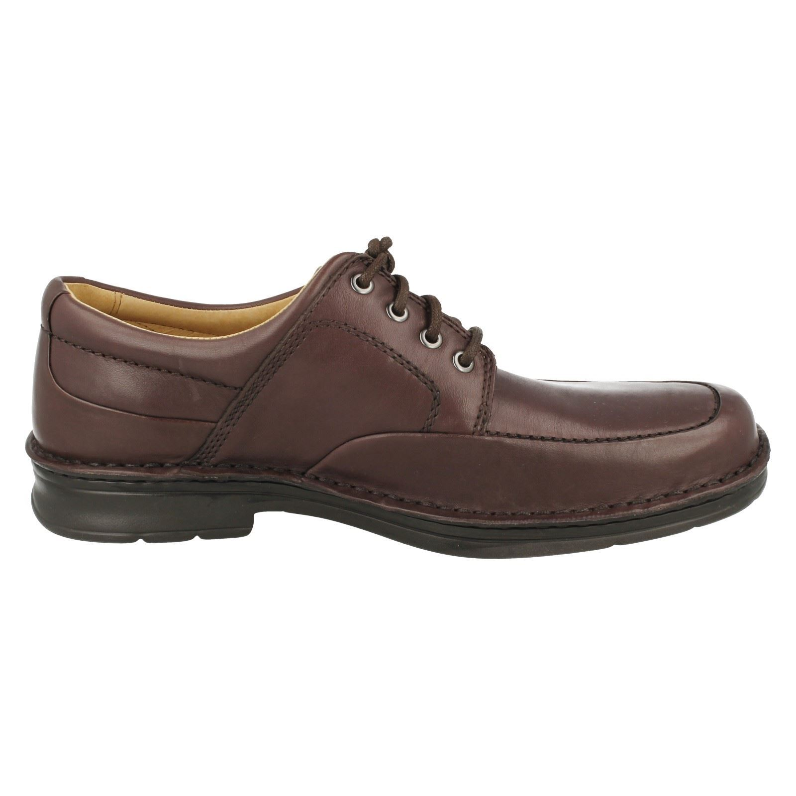 Hombres ébano Clarks de Run' Shoes 'saludo Lace Up marrón qx1wqUZfH