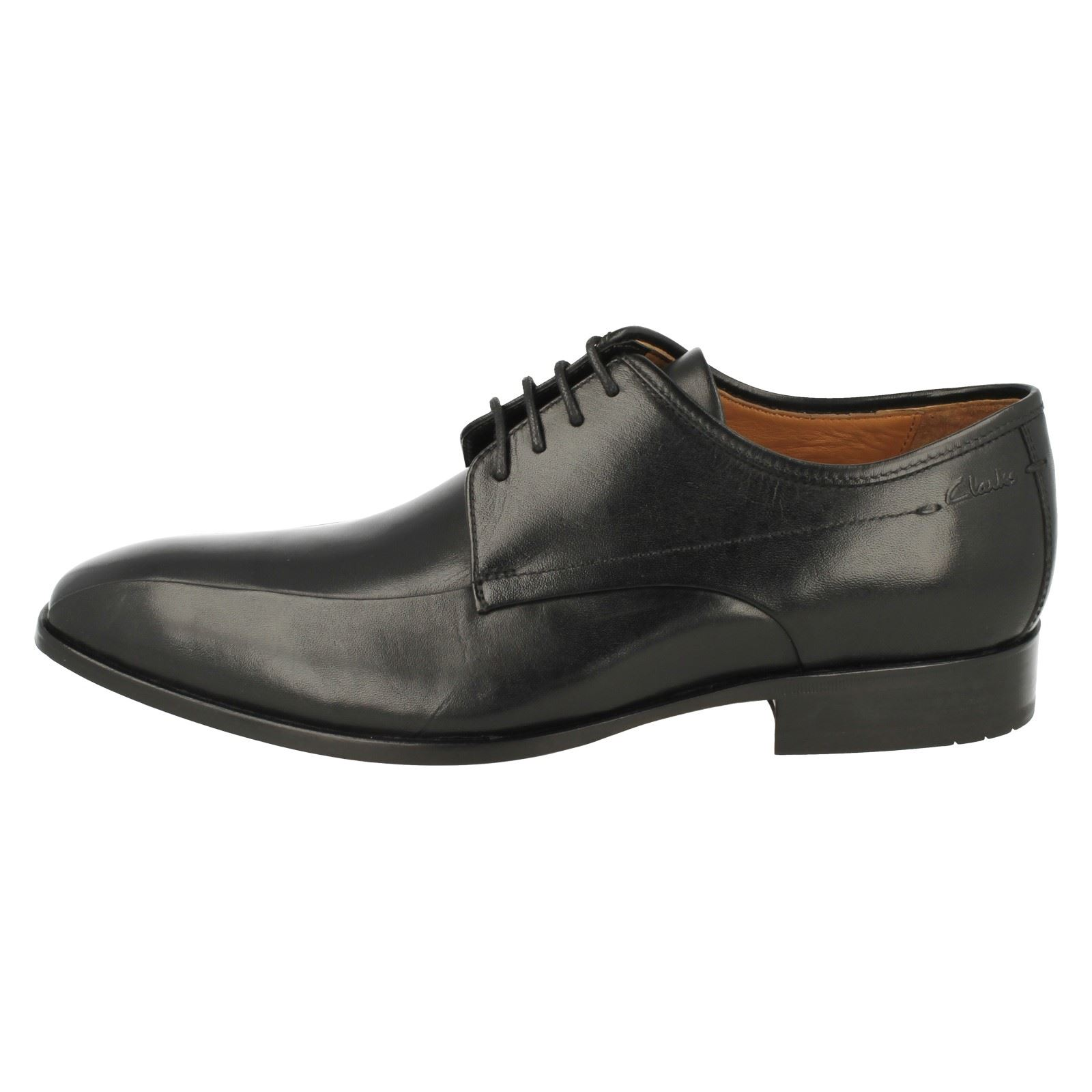 Shoes Smart Leather Over Formal Clarks Mens Up Black Lace Dexie BHqS8vxwY