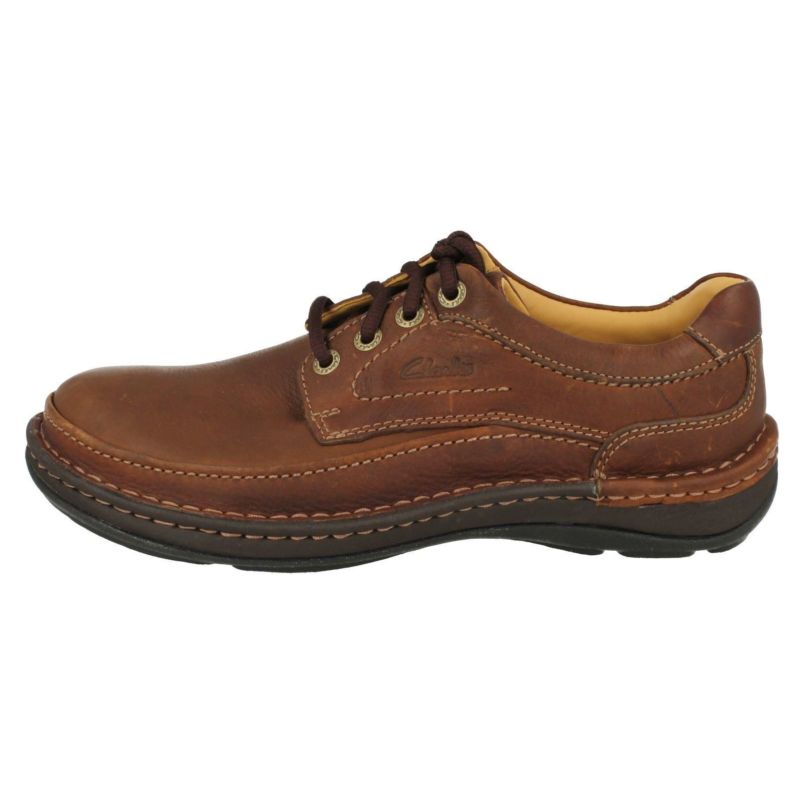 Mens Brown Leather Casual Shoes Uk