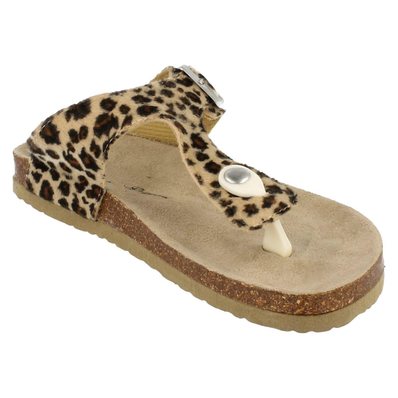 Señoras Claudia ghizzani Toe Post Leopardo Mula