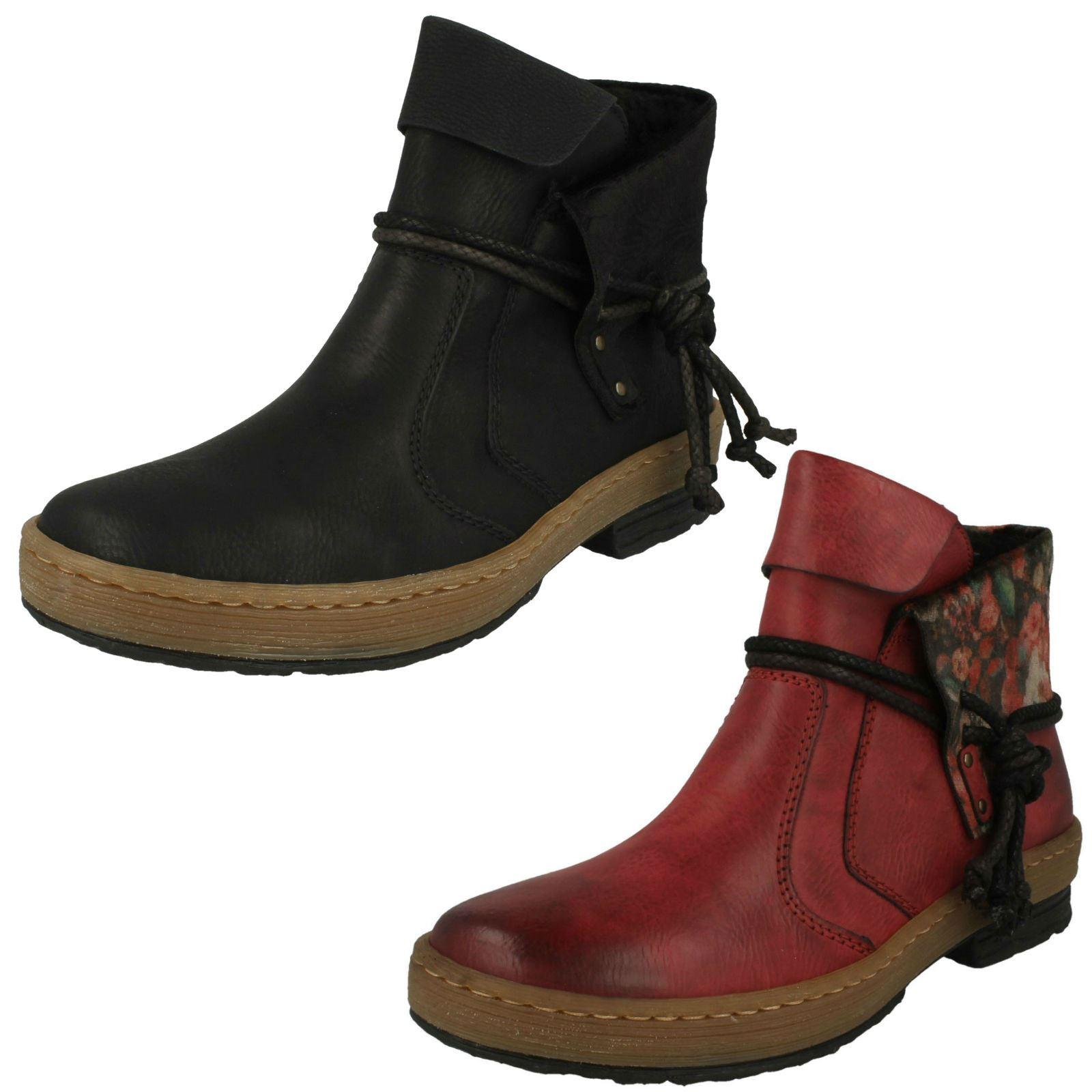Damas Rieker botas botas botas al Tobillo Informales 'Z6771'  tienda de venta en línea