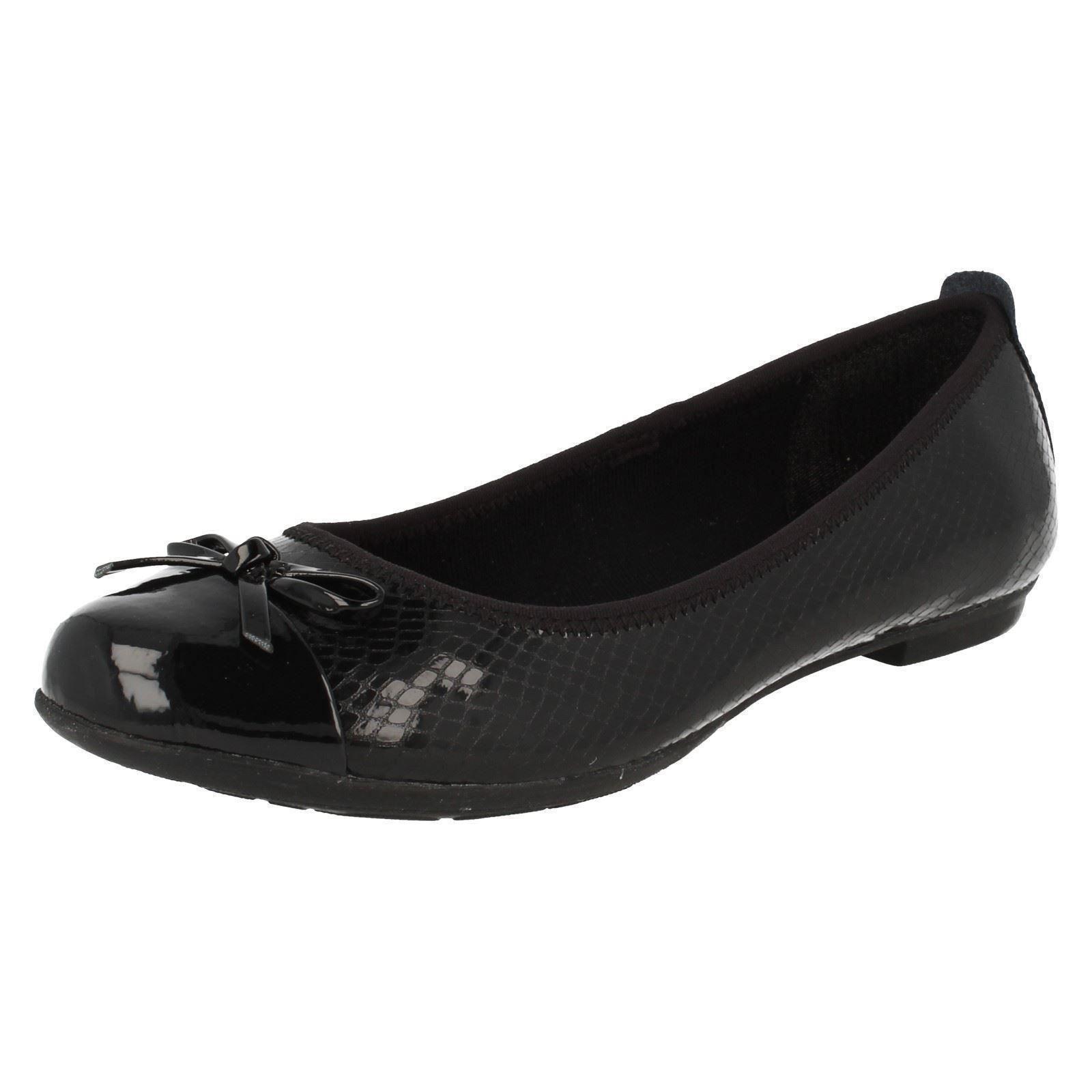 Senior Girls Bootleg by Clarks Slip On Shoes Tizz Hope