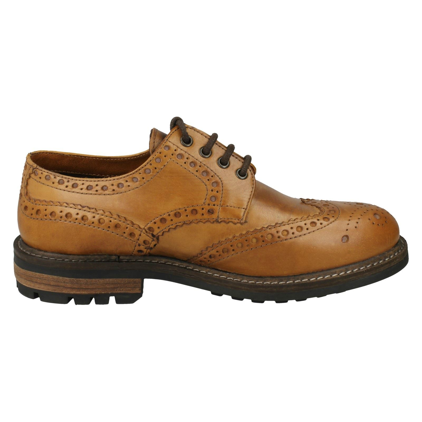 Homme-Red-Tape-formelle-Souliers-BROGUES-034-Bracken-Classic-034