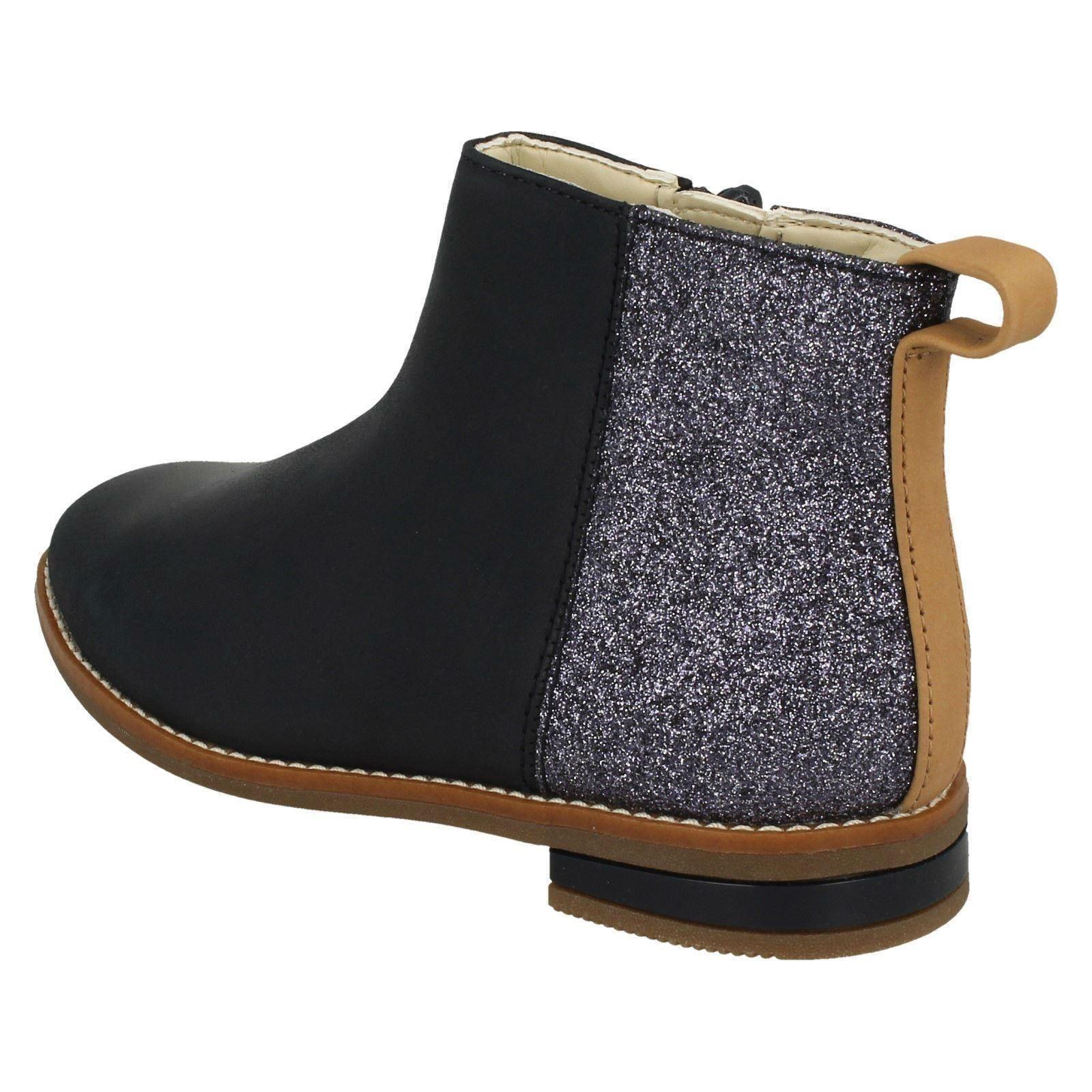Clarks Girls Smart Ankle Boots /'Drew Fun/'