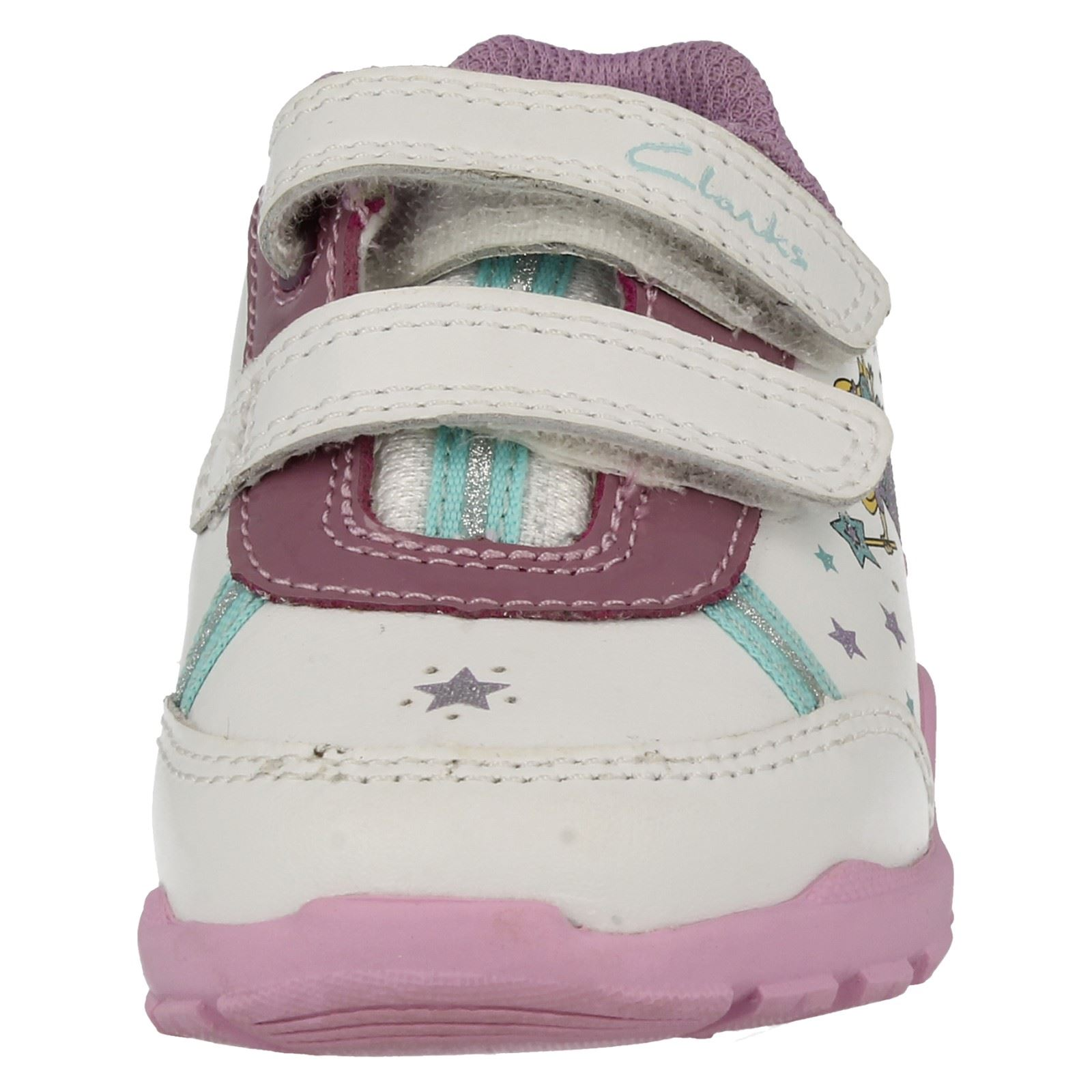 Girls Clarks First Trainers BriteFairy