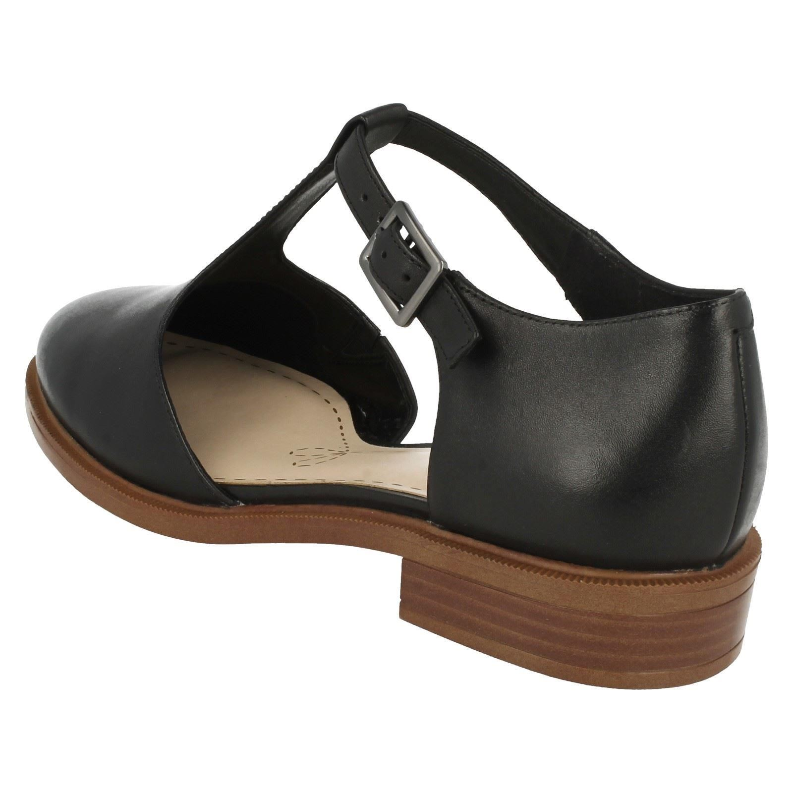 Ladies-Clarks-T-Bars-039-Taylor-Palm-039
