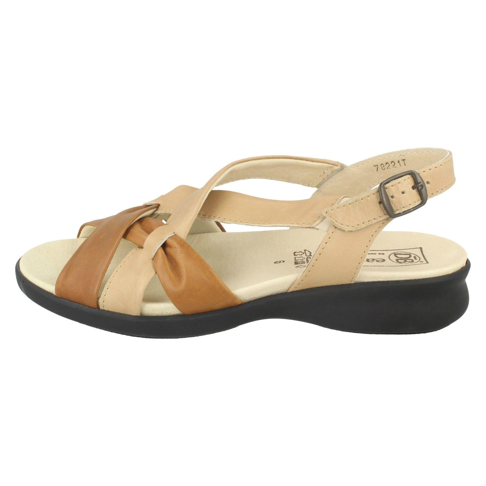 cuir beige Sand Tan en Stroud Easy Ladies Sandales B WnBzxqHPXv