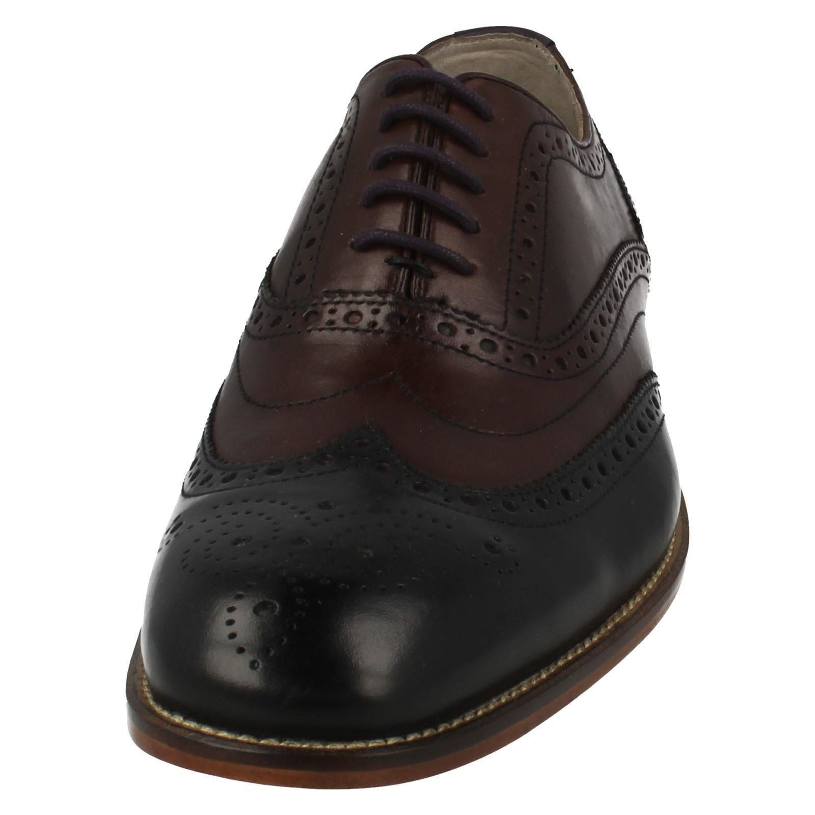 Mens Clarks Penton Limit Formal Brogues