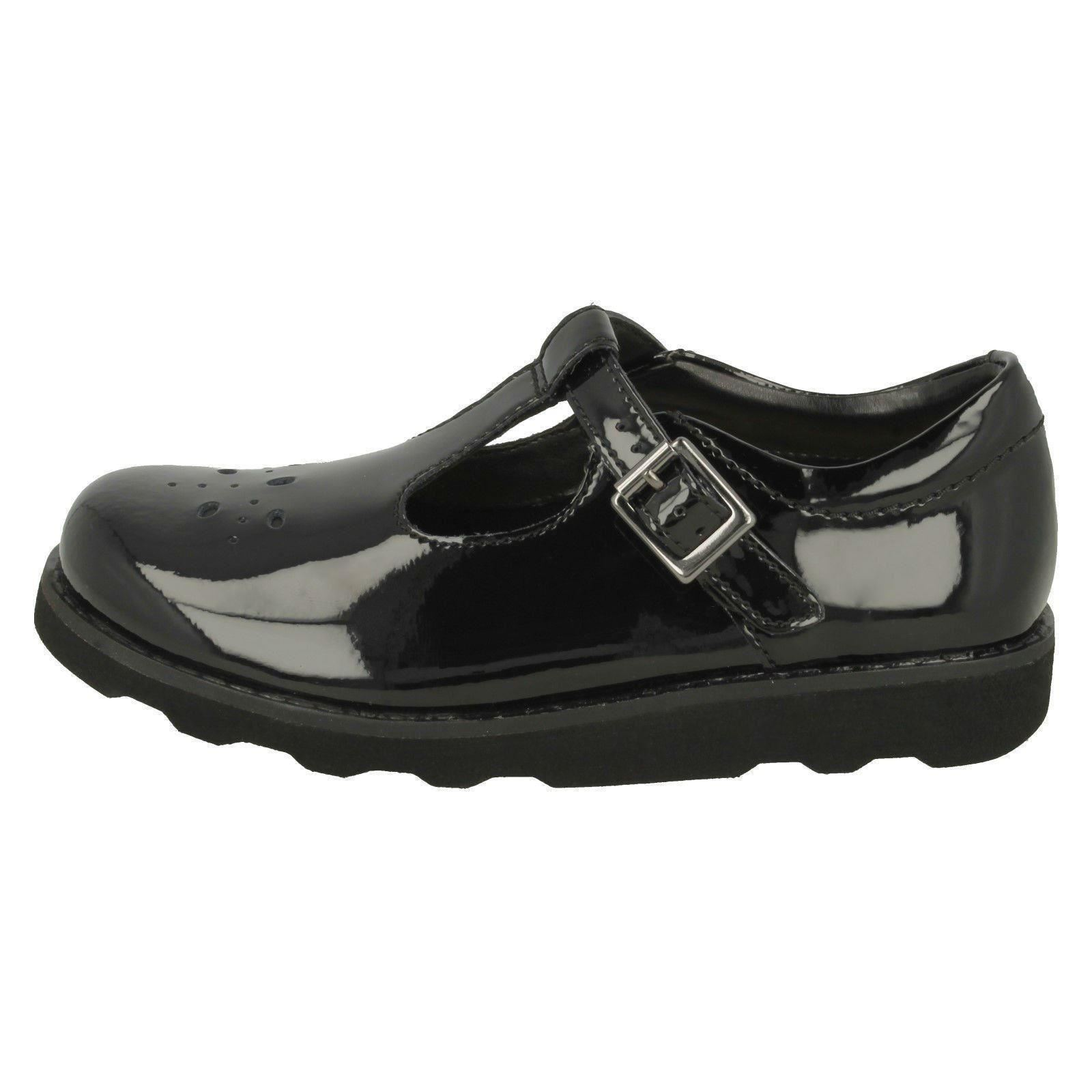 Wish Negro T Clarks Zapatos Crown bar para niñas AqPYHx