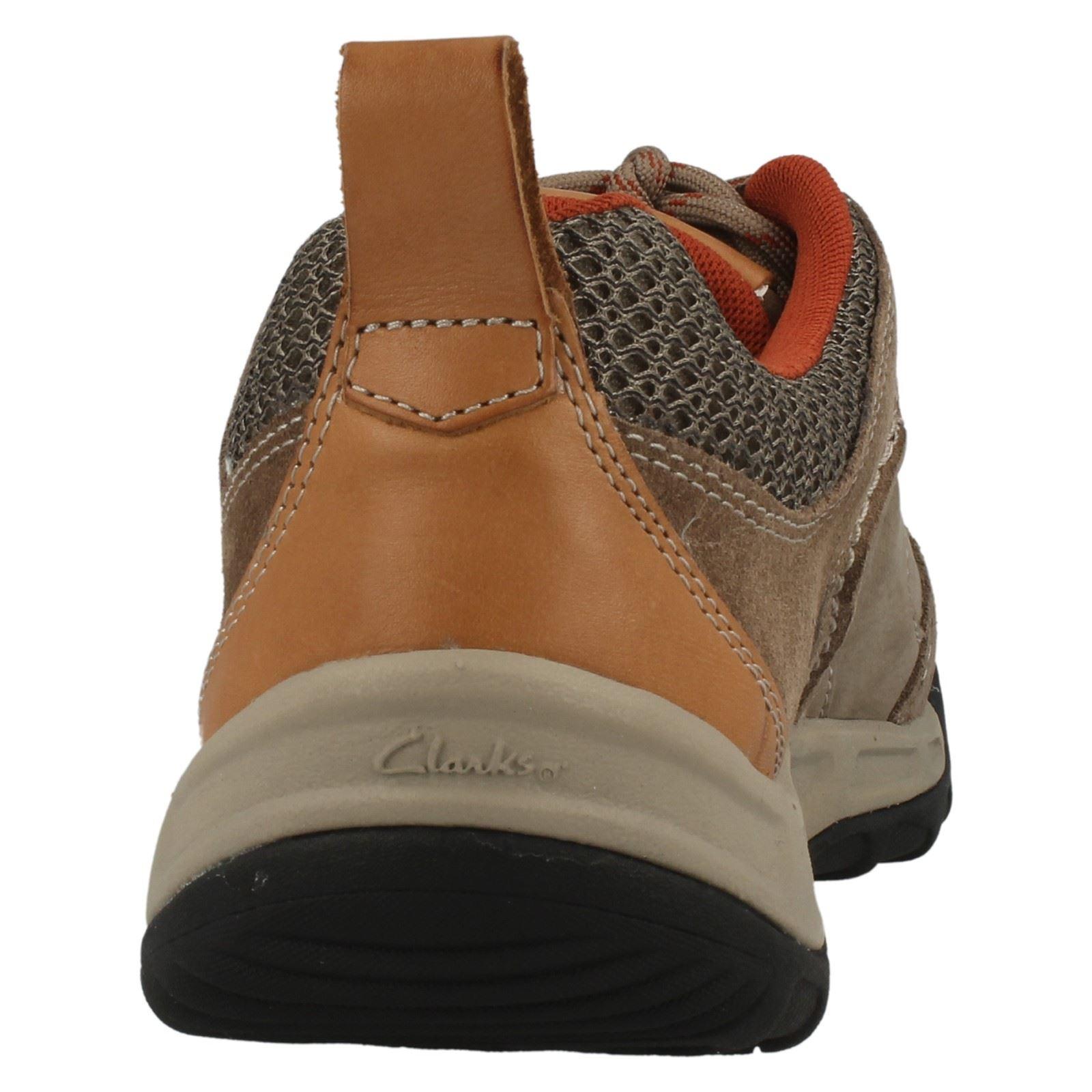 Active Clarks hombre Lace Stone para Wear Zapatillas Outpass S5Hqx4Sd