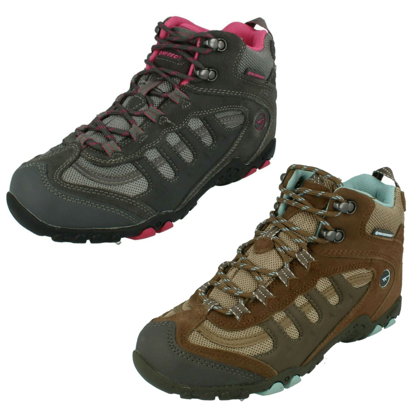 Hi Tec Penrith Low Waterproof Men/'s Hiking Trail Lace Up Ankle Boots Shoes