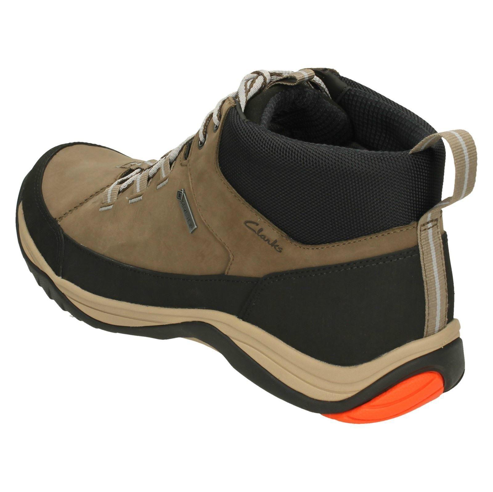 marrón Hi para caminar Seta hombre Baystone Gtx para Clarks Botas zvpRwaqv