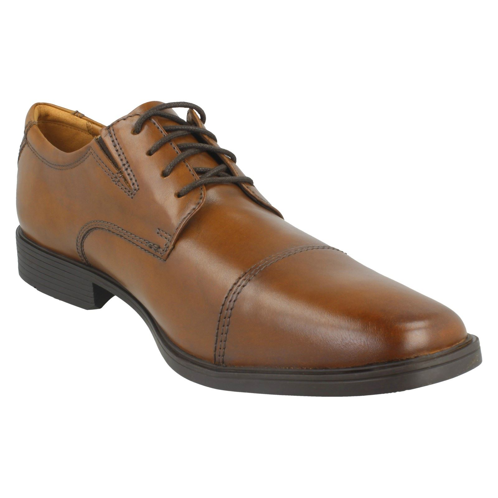 Mens-Clarks-Formal-Lace-Up-Shoes-Tilden-Cap thumbnail 21