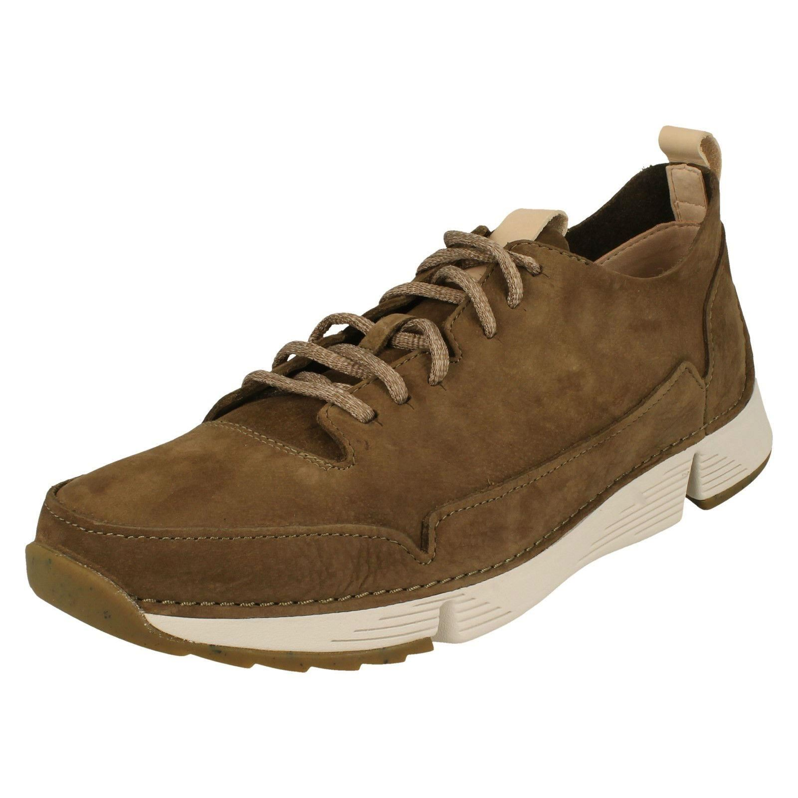 Mens Clarks Casual Lace Up Shoes Tri Spark