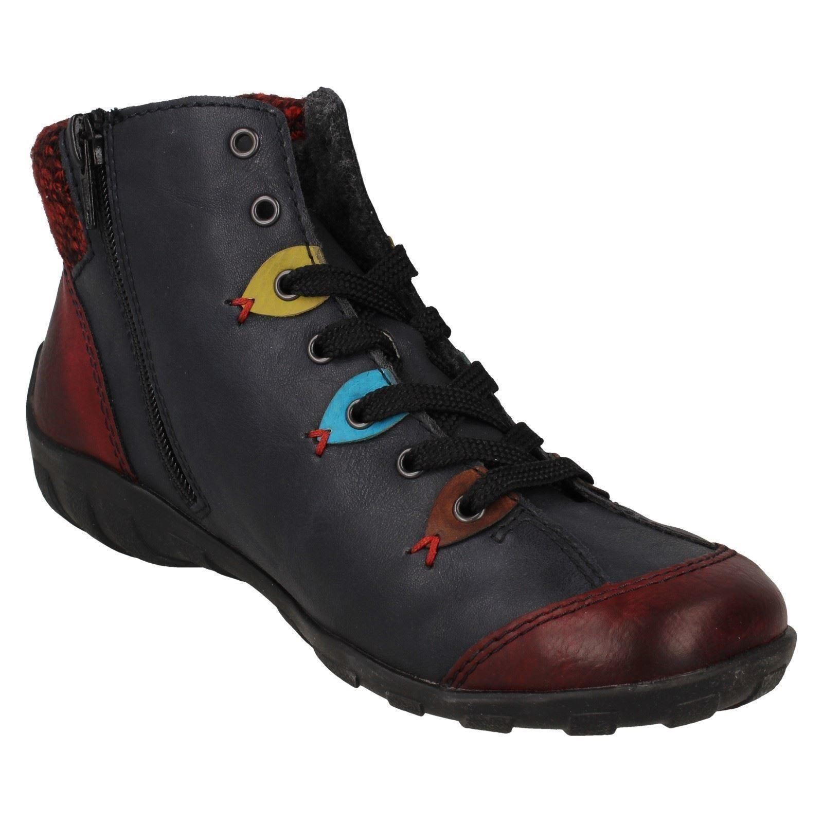 Ladies Rieker Casual Ankle Boots L6513