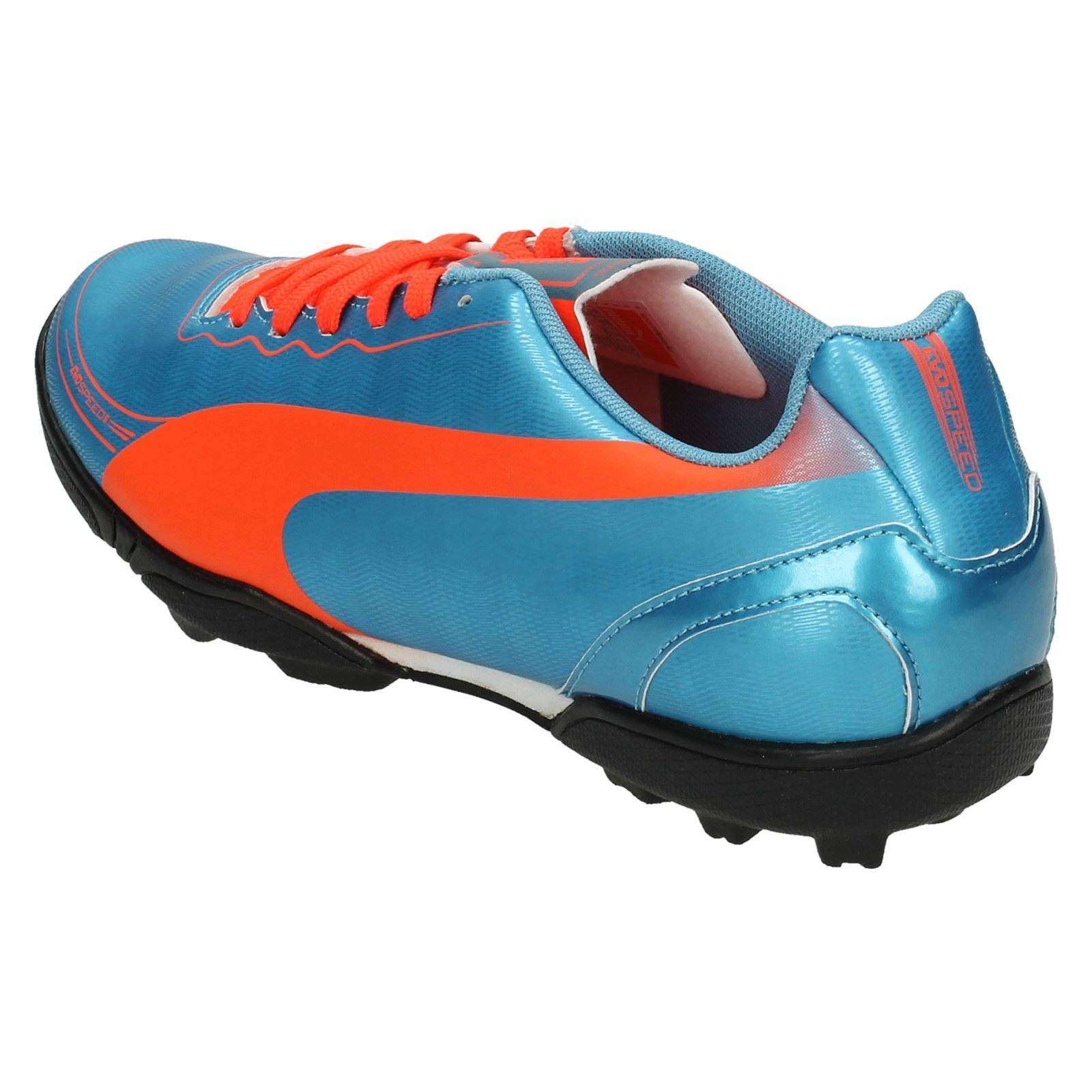 Boys Evo 2 Junior Speed Turf Astro durazno Entrenadores Tt amarillo 5 sintéticos de Puma Jr Sharks azul fútbol Azul f8dqzP8
